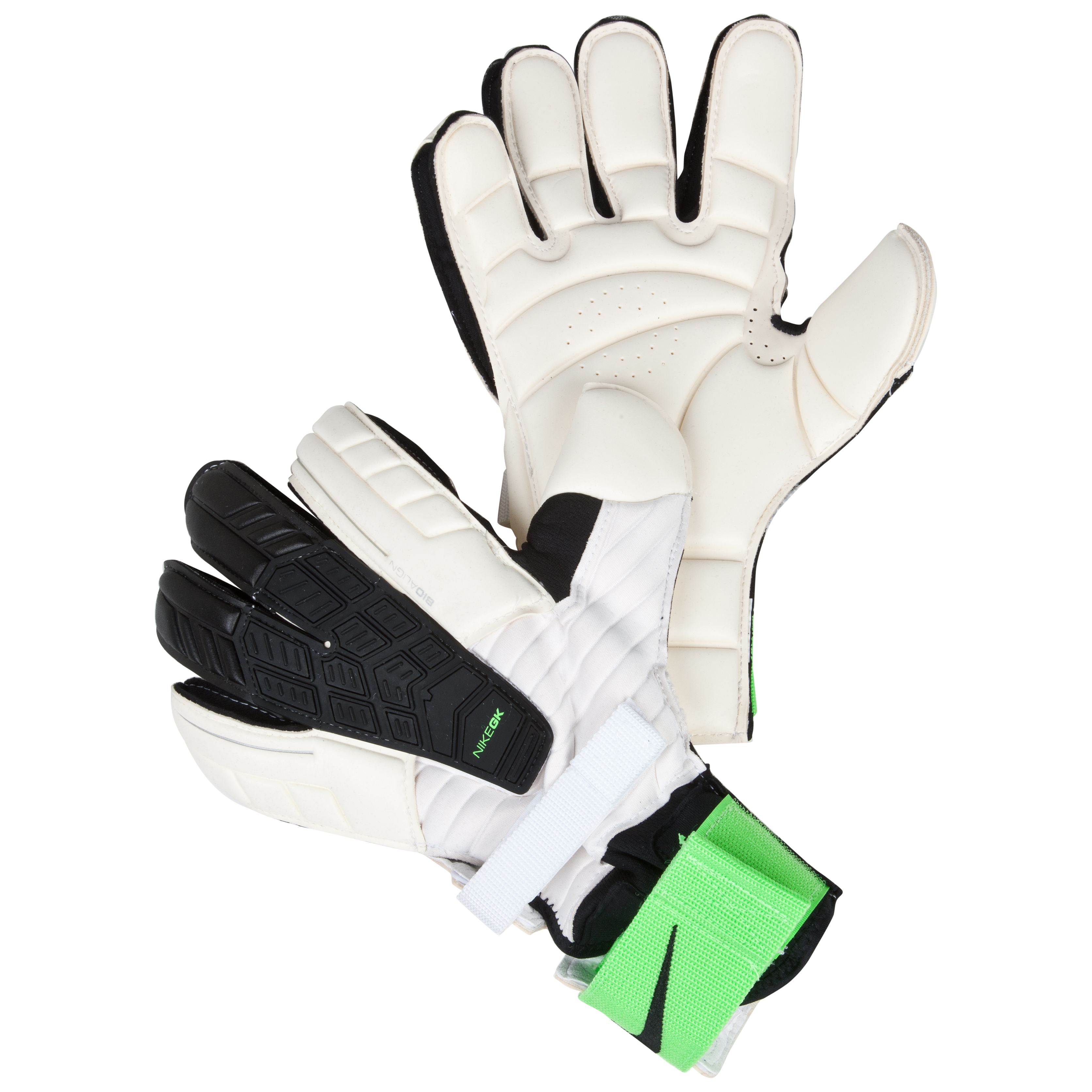 Nike Confidence Goalkeeper Gloves - White/Green/Black