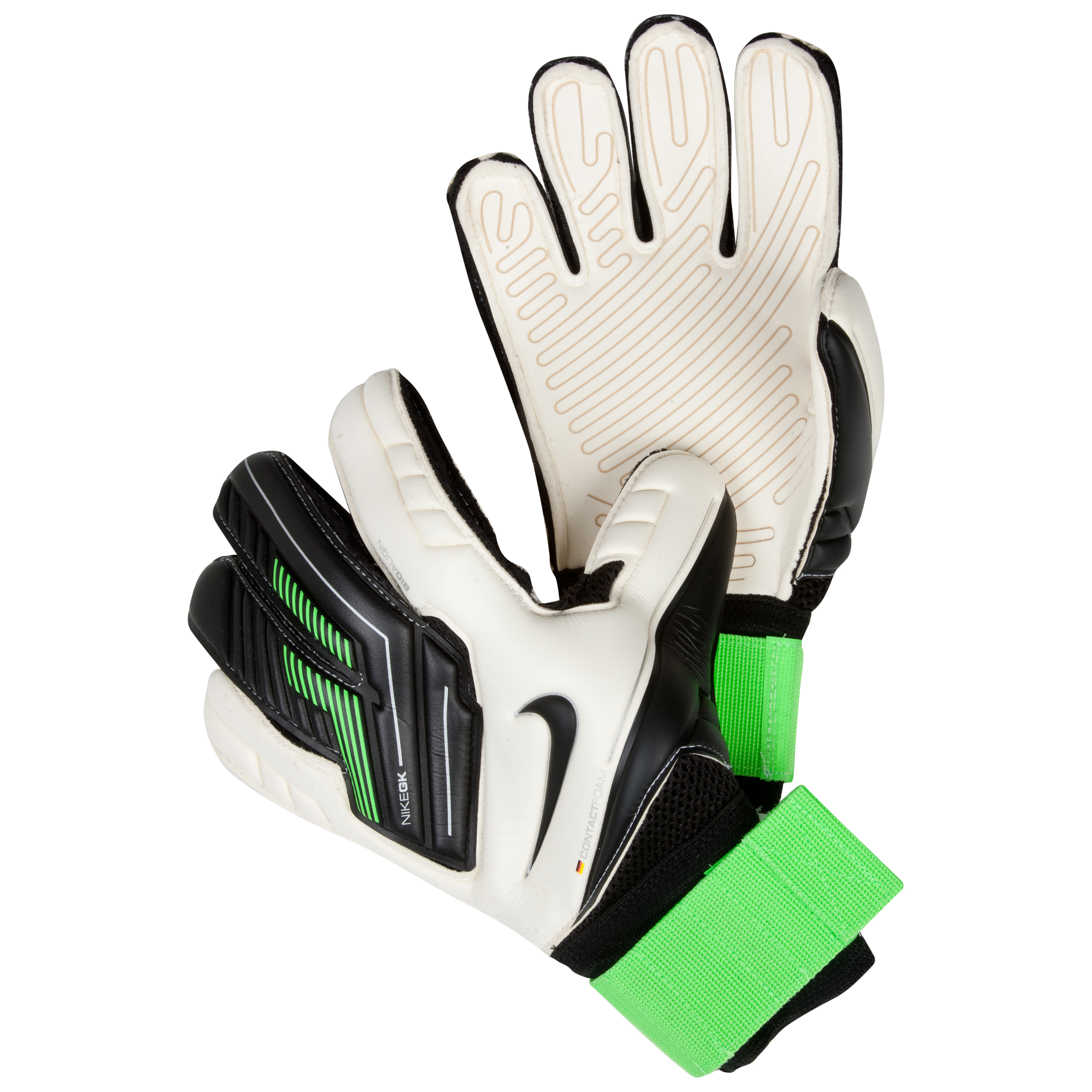 Nike Premier SGT Goalkeeper Gloves - White/Green/Black/
