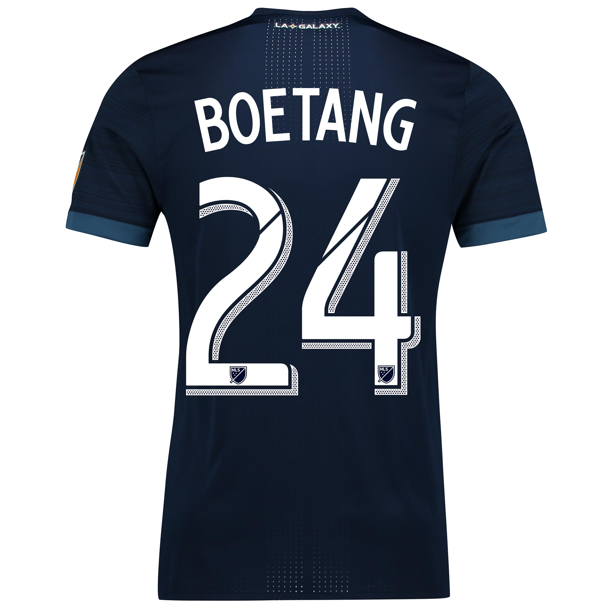 LA Galaxy Authentic Away Shirt 2017-18 with Boetang 24 printing, N/A