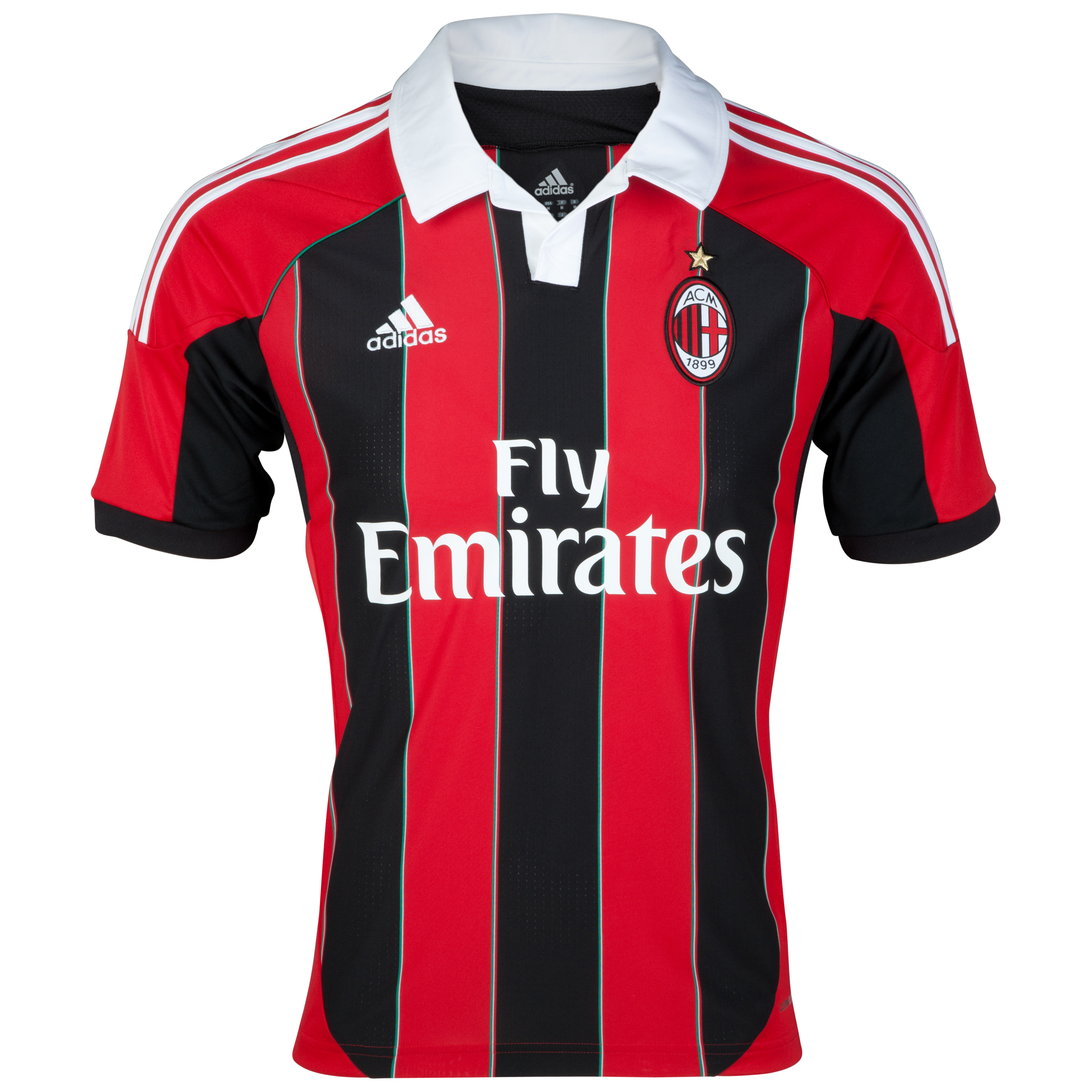 AC Milan Home Shirt 2012/13 - Kids