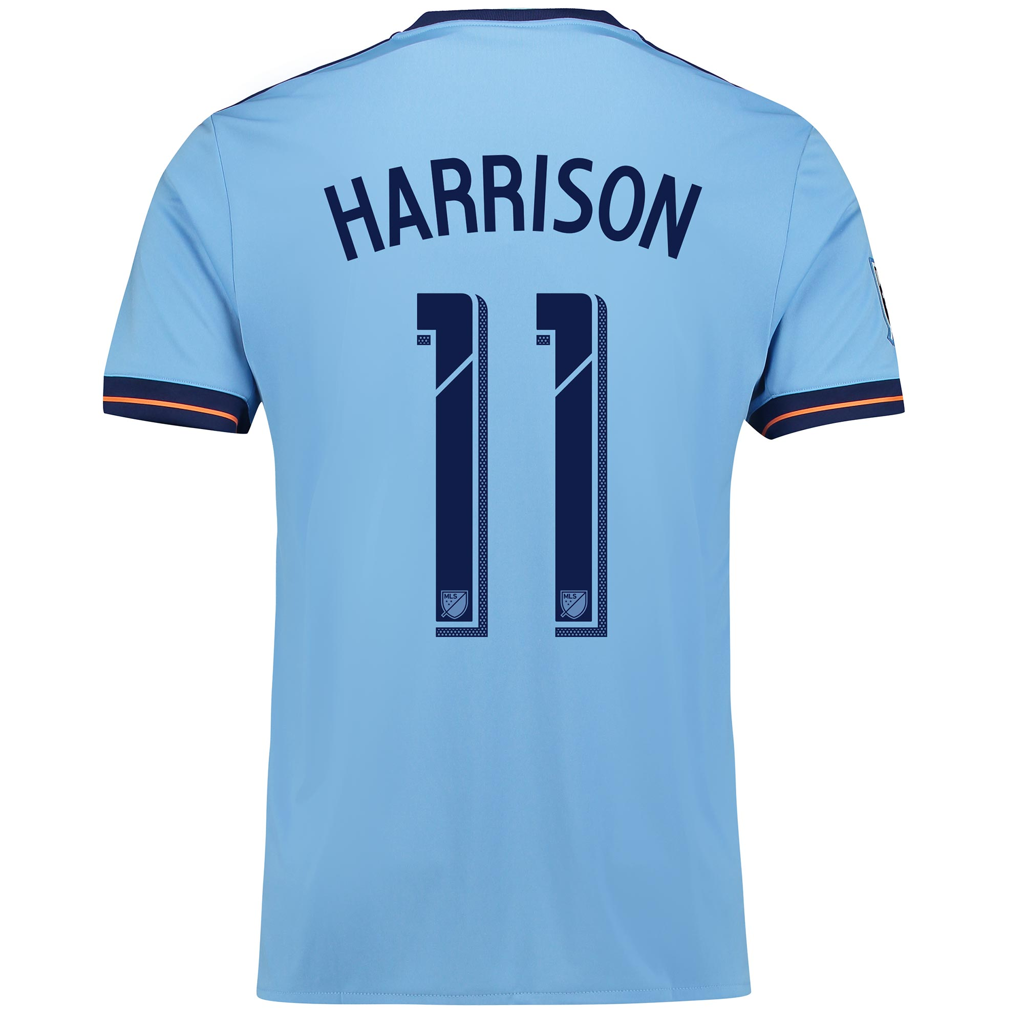 New York City FC Home Shirt 2017-18 with Harrison 11 printing