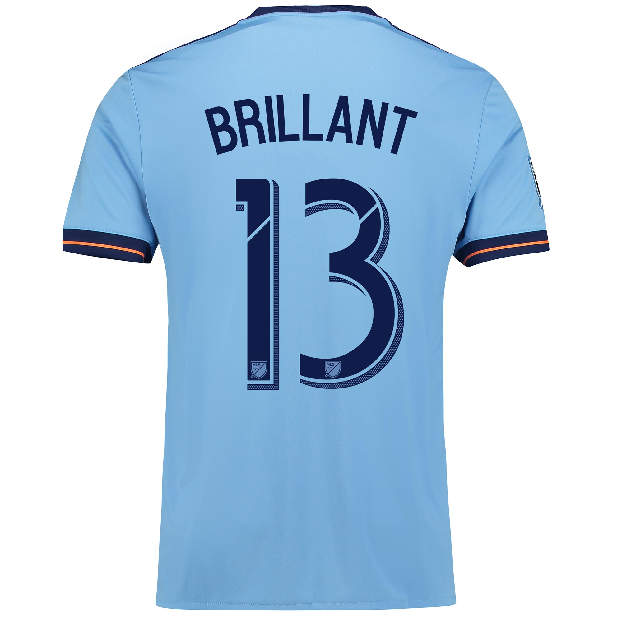 New York City FC Home Shirt 2017-18 with Brillant 13 printing