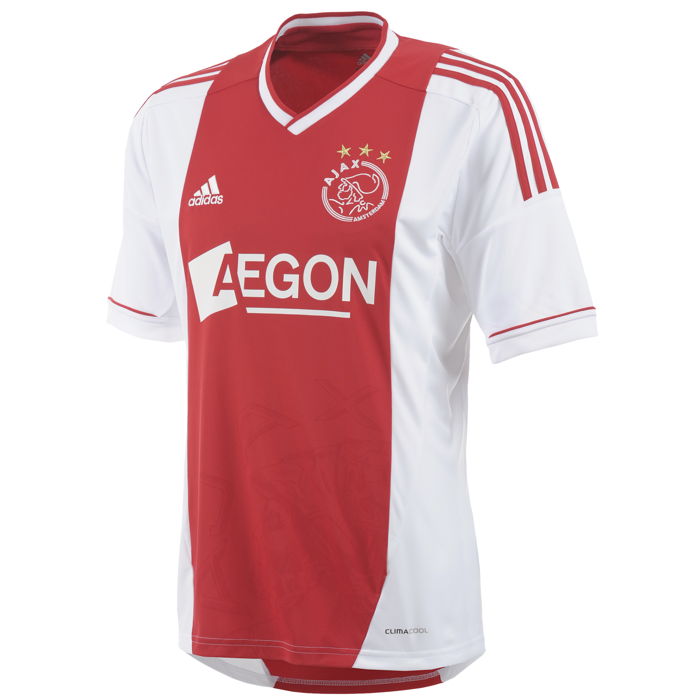 Ajax Home Shirt 2012/13 - Toro/White - Youths