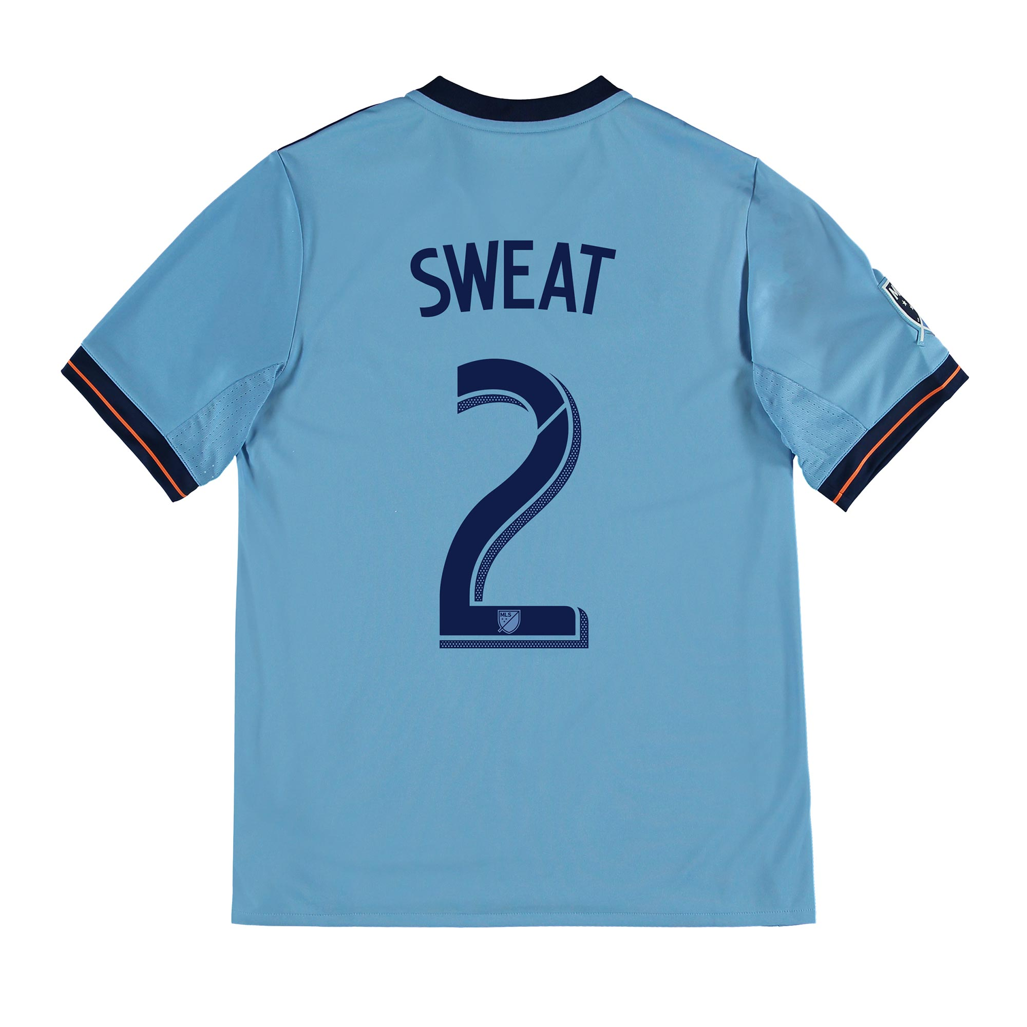 New York City FC Home Shirt 2017-18 - Kids with Sweat 2 printing