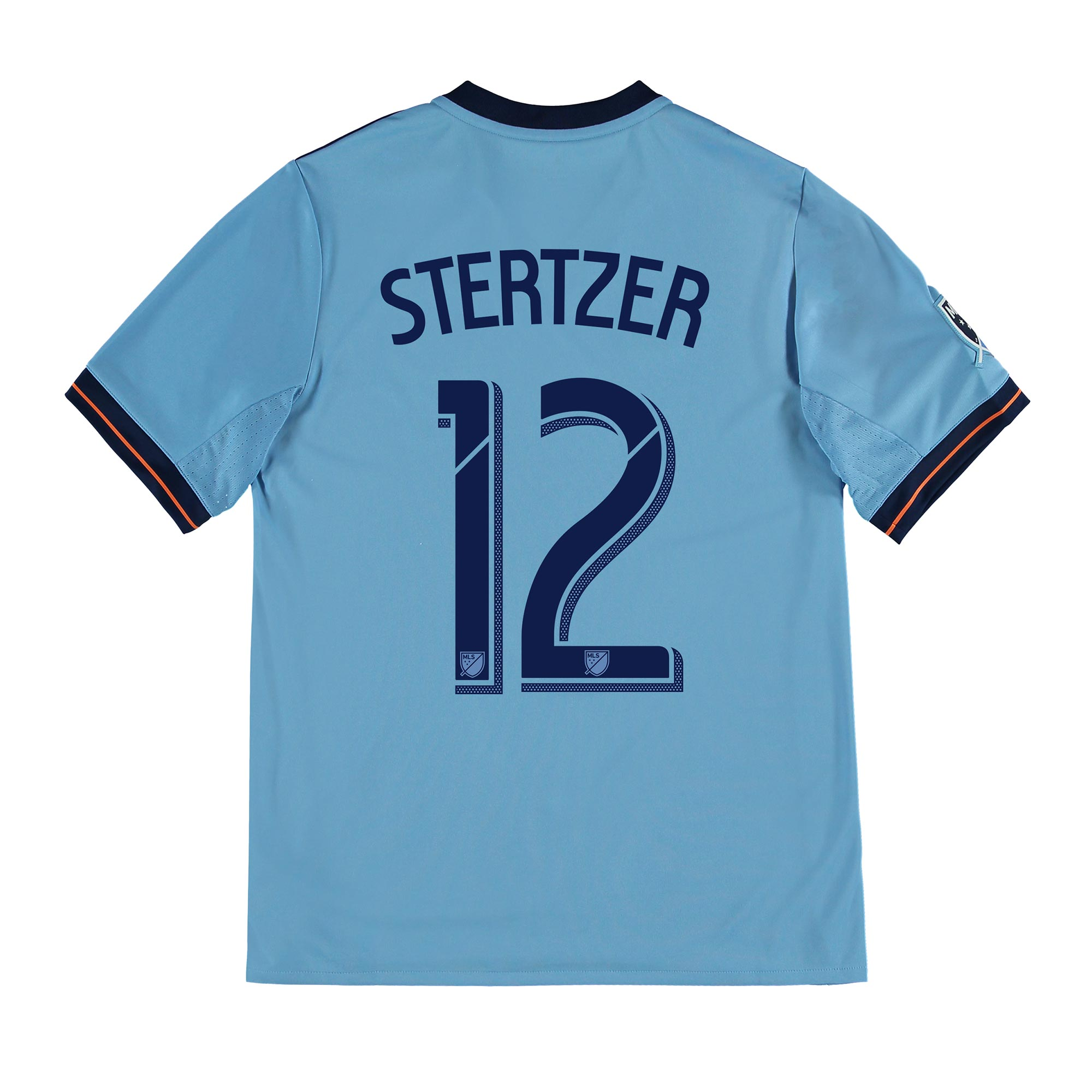 New York City FC Home Shirt 2017-18 - Kids with Stertzer 12 printing