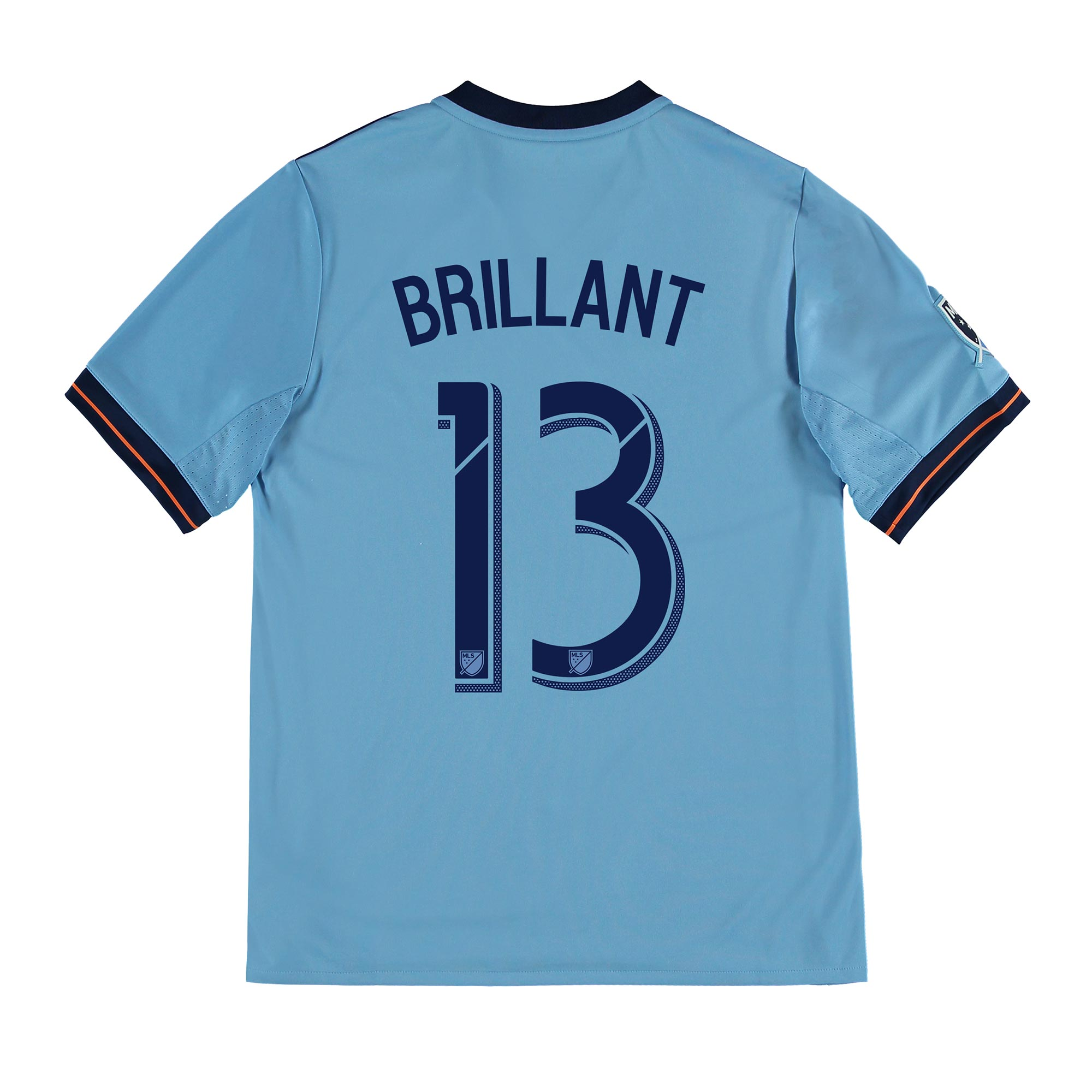New York City FC Home Shirt 2017-18 - Kids with Brillant 13 printing