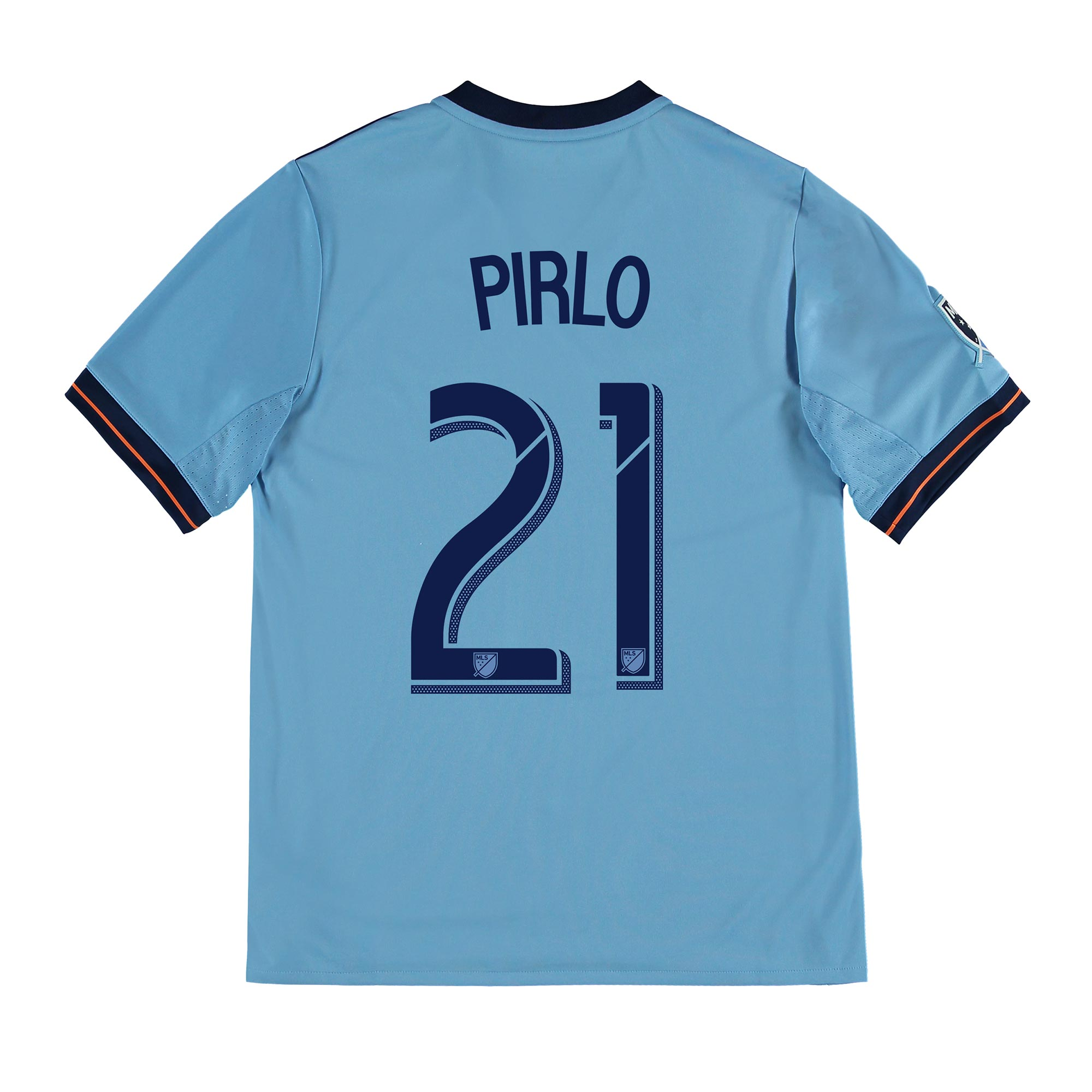New York City FC Home Shirt 2017-18 - Kids with Pirlo 21 printing