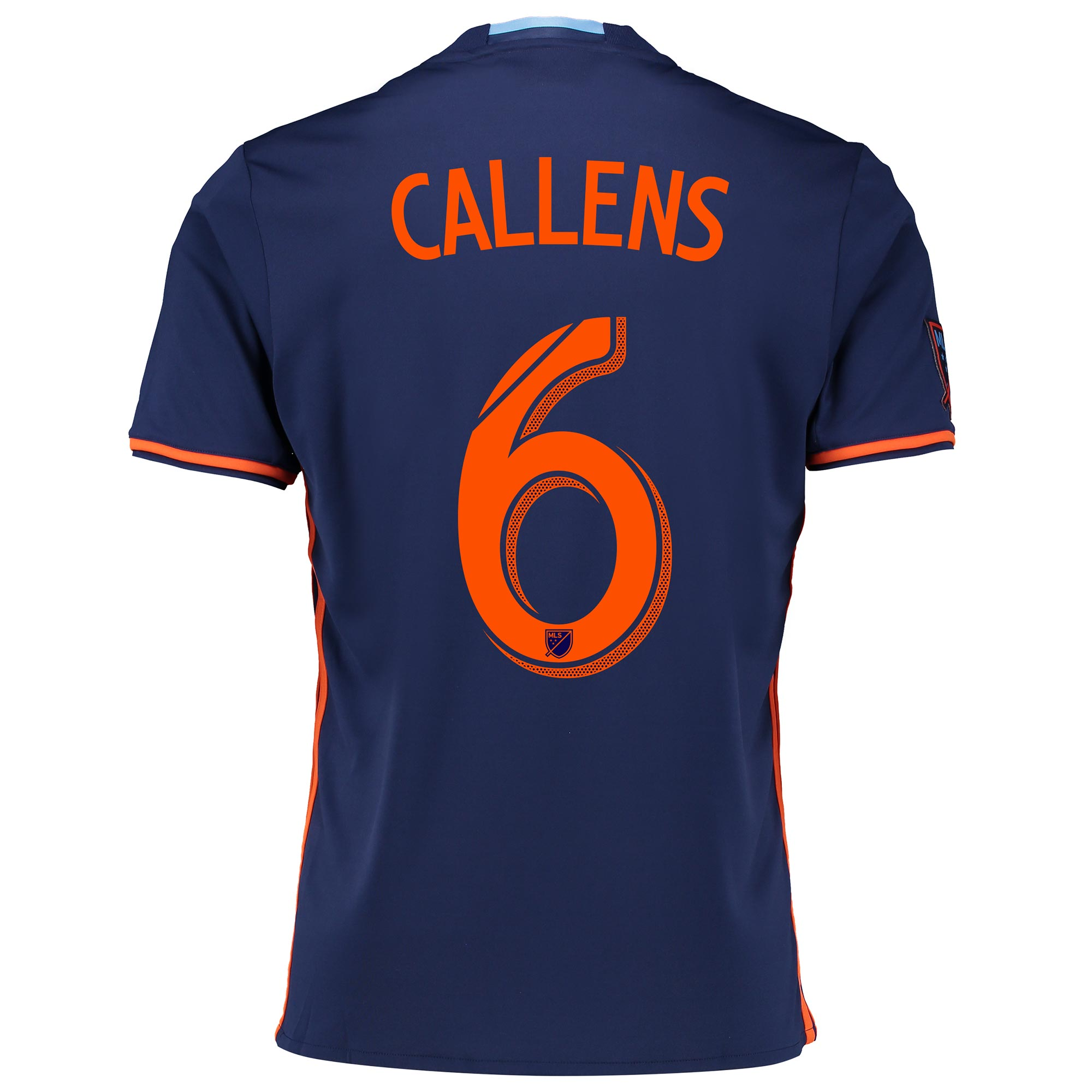 New York City FC Away Shirt 2016-17 with Callens 6 printing
