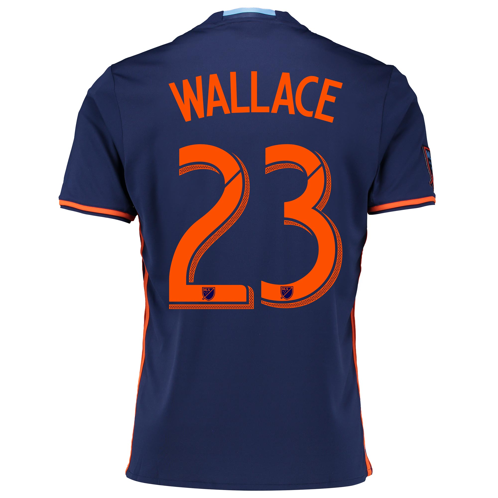 New York City FC Away Shirt 2016-17 with Wallace 23 printing