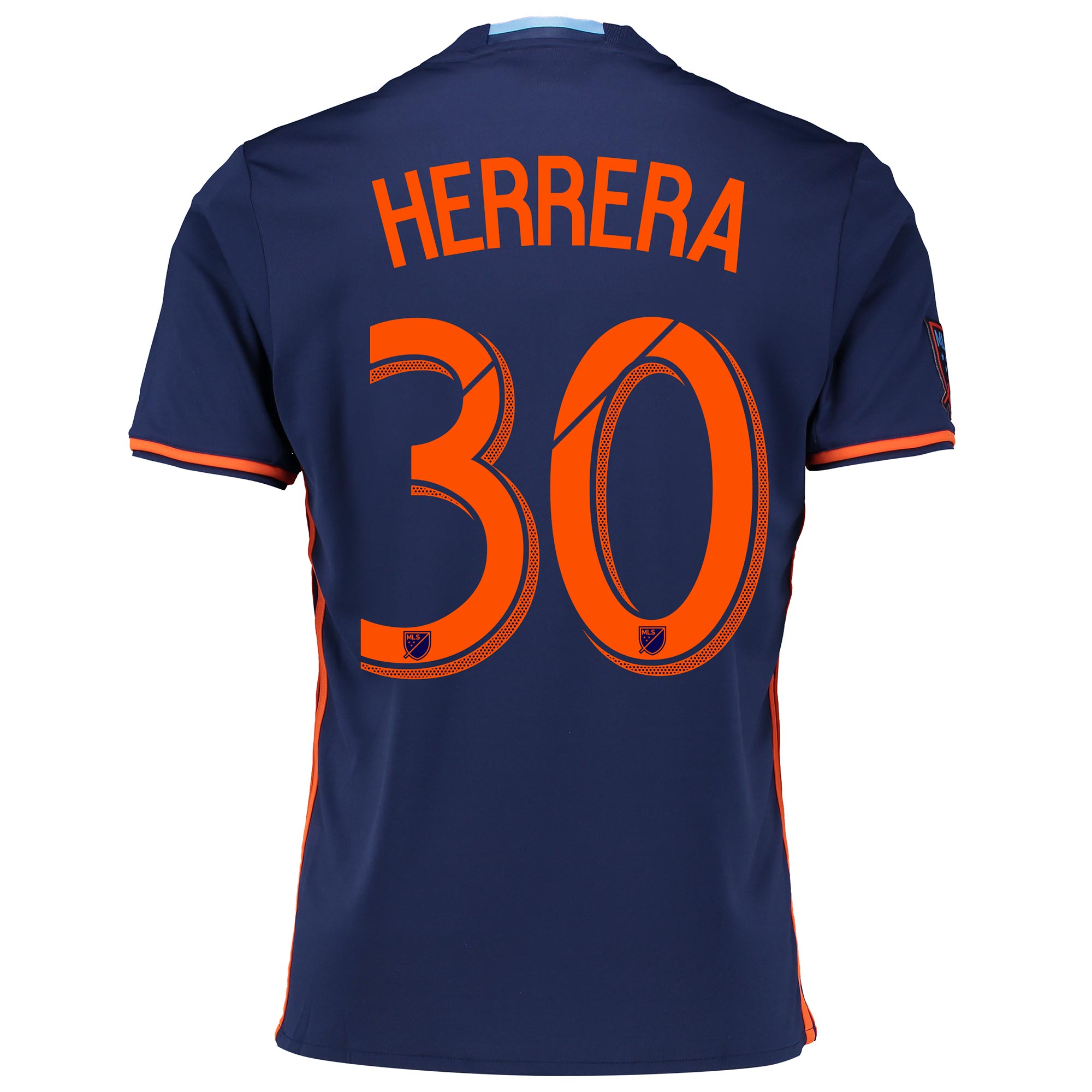 New York City FC Away Shirt 2016-17 with Herrera 30 printing