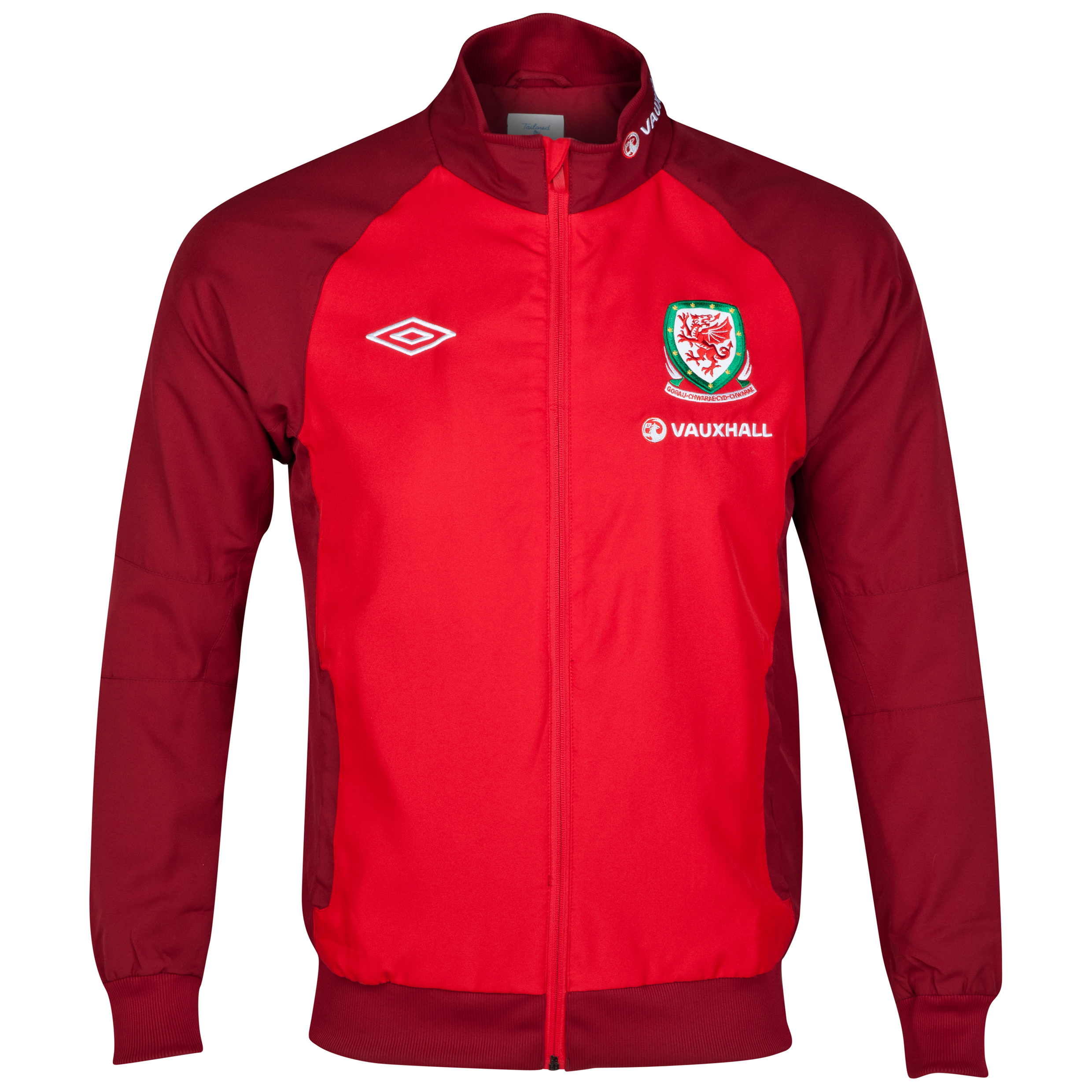 Wales Training Woven Jacket - Vermillion / Biking Red
