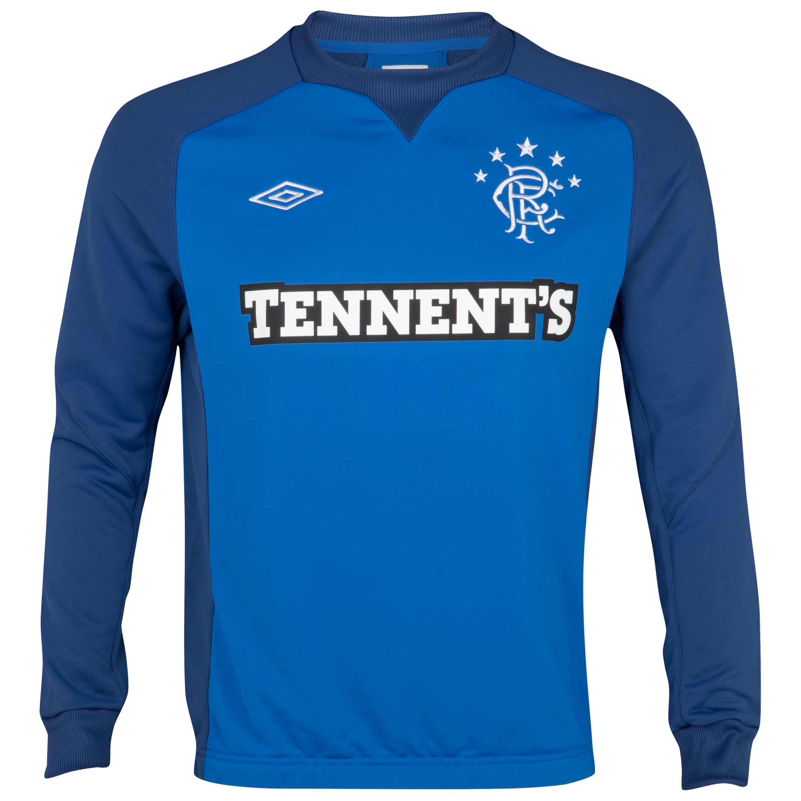 Glasgow Rangers Training Sweat Top - Royal / Regal Blue