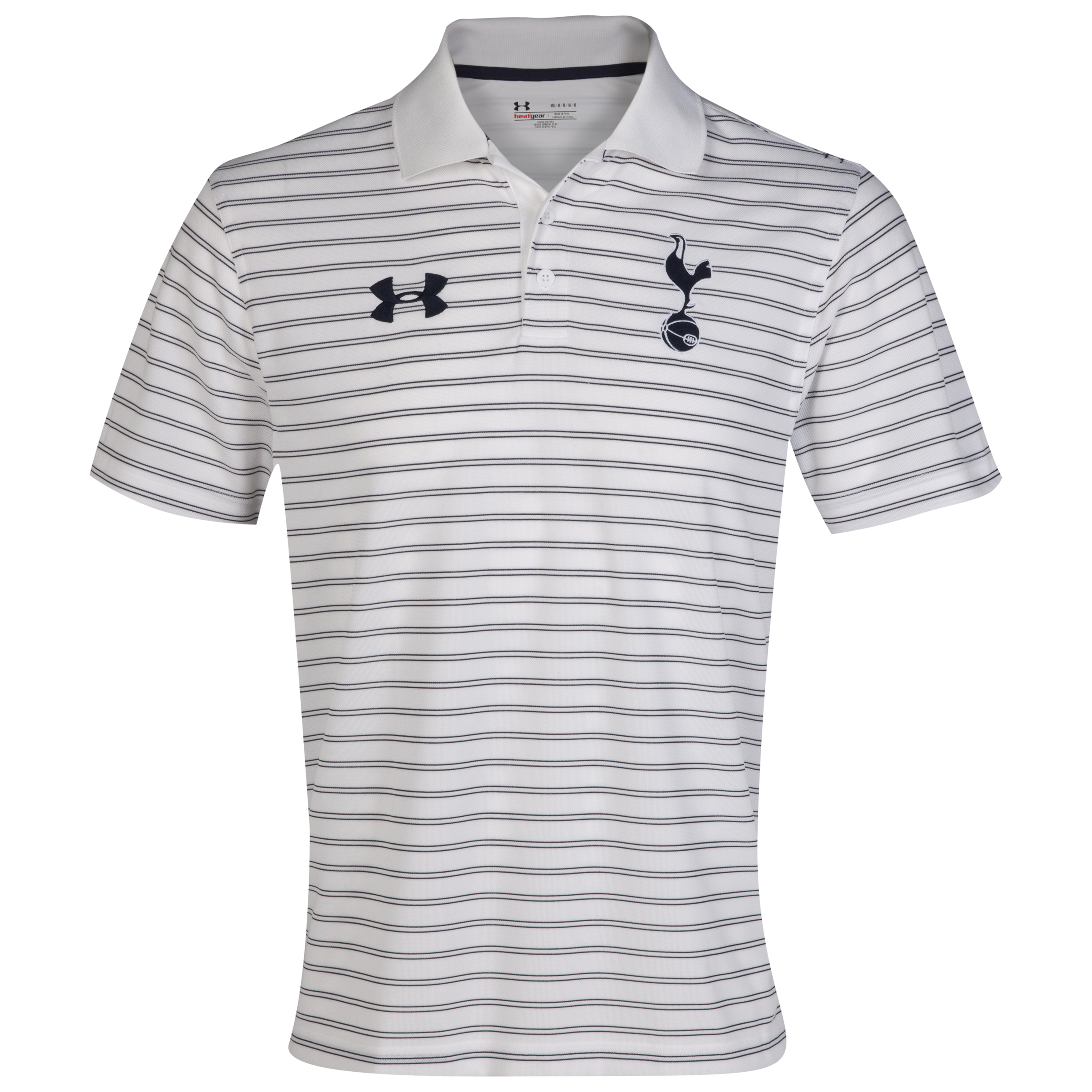 Tottenham Hotspur Drawstripe Polo - White/Midnight