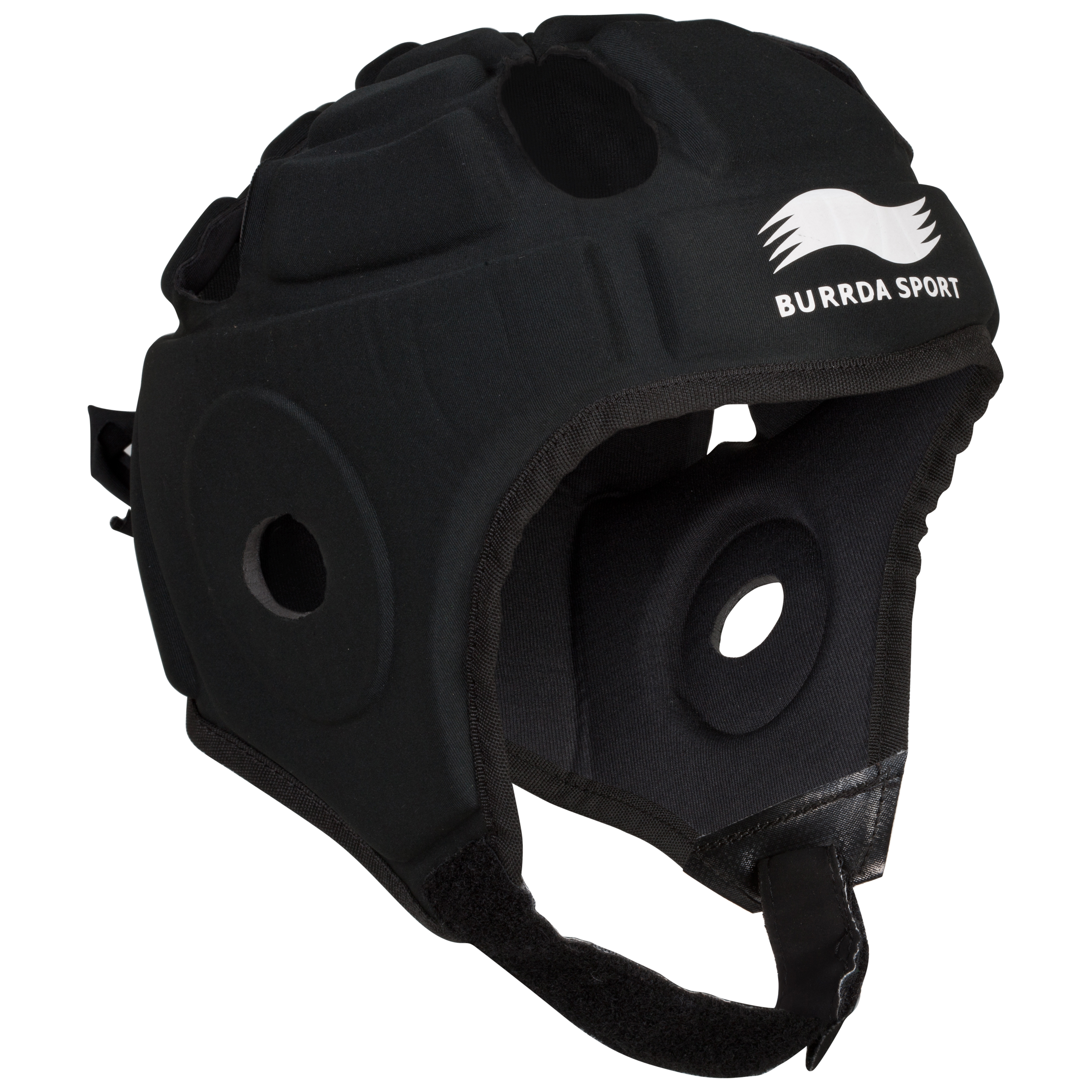 Burrda Sport Rugby Tech Headguard - Black