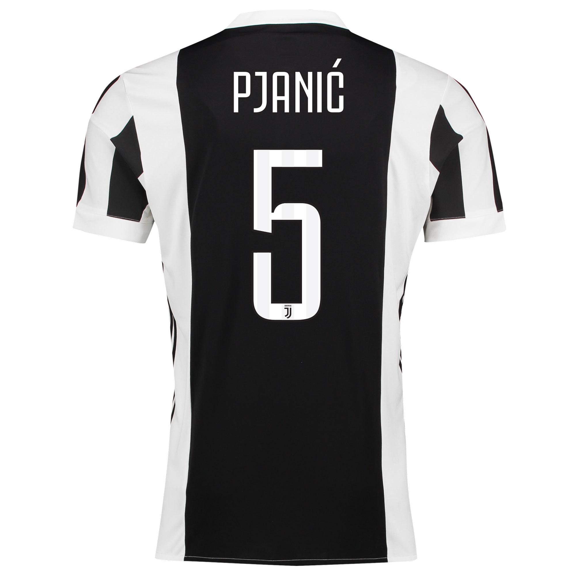 Juventus Home Adi Zero Shirt 2017-18 with Pjanic 5 printing