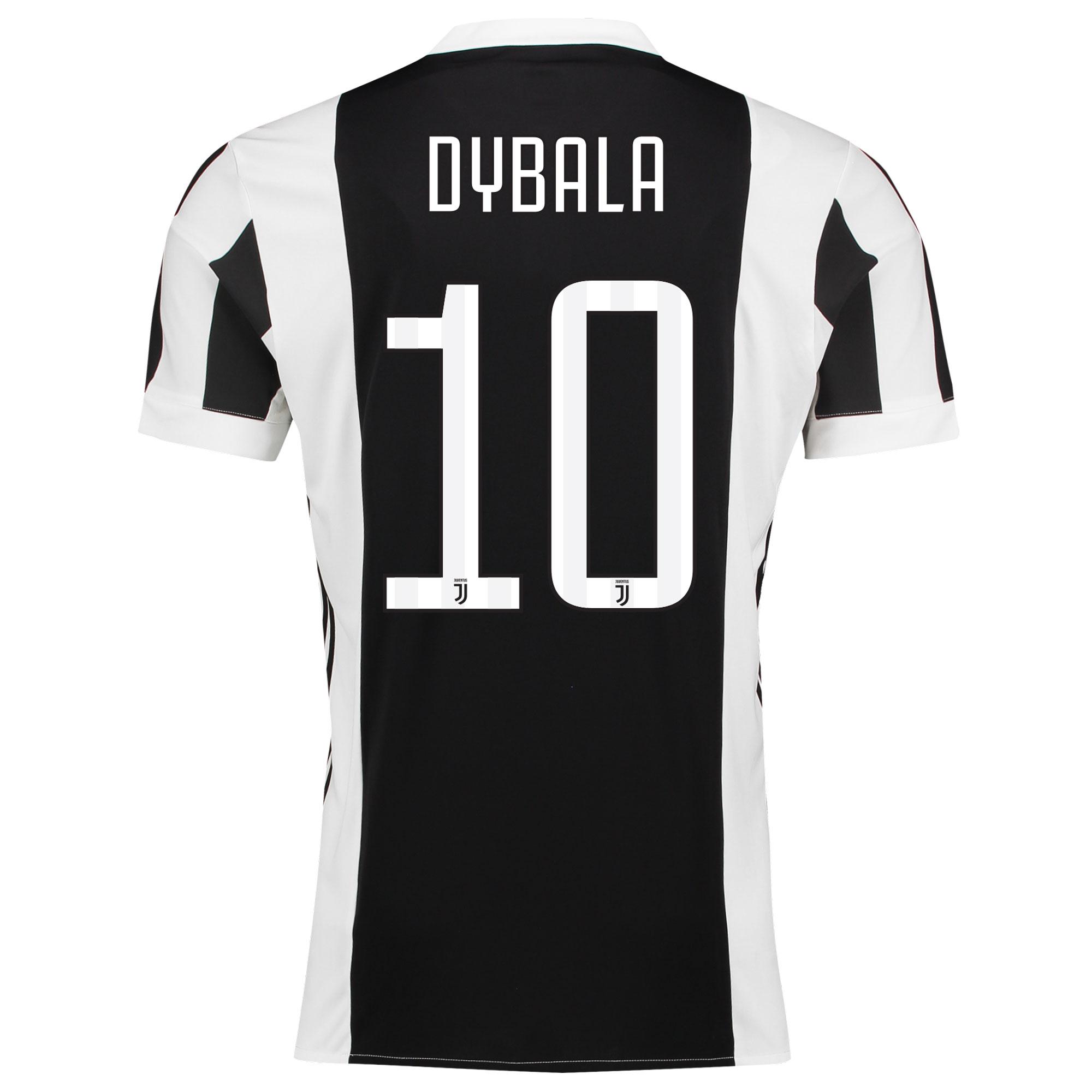 Juventus Home Adi Zero Shirt 2017-18 with Dybala 10 printing