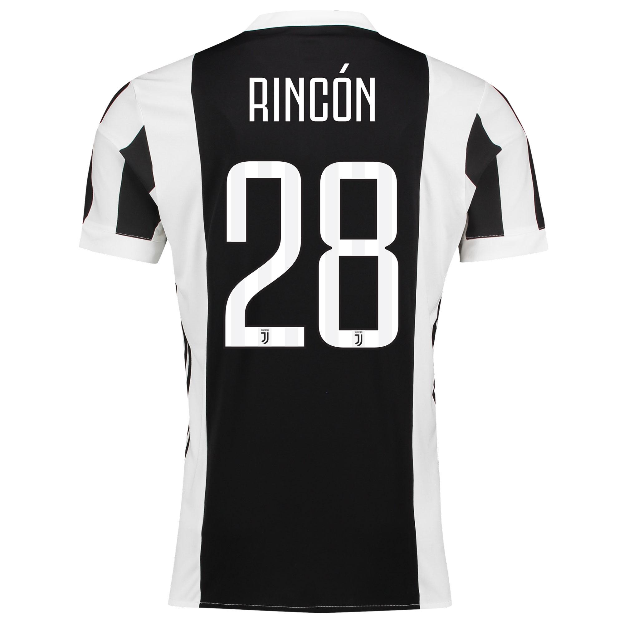 Juventus Home Adi Zero Shirt 2017-18 with Rincón 28 printing