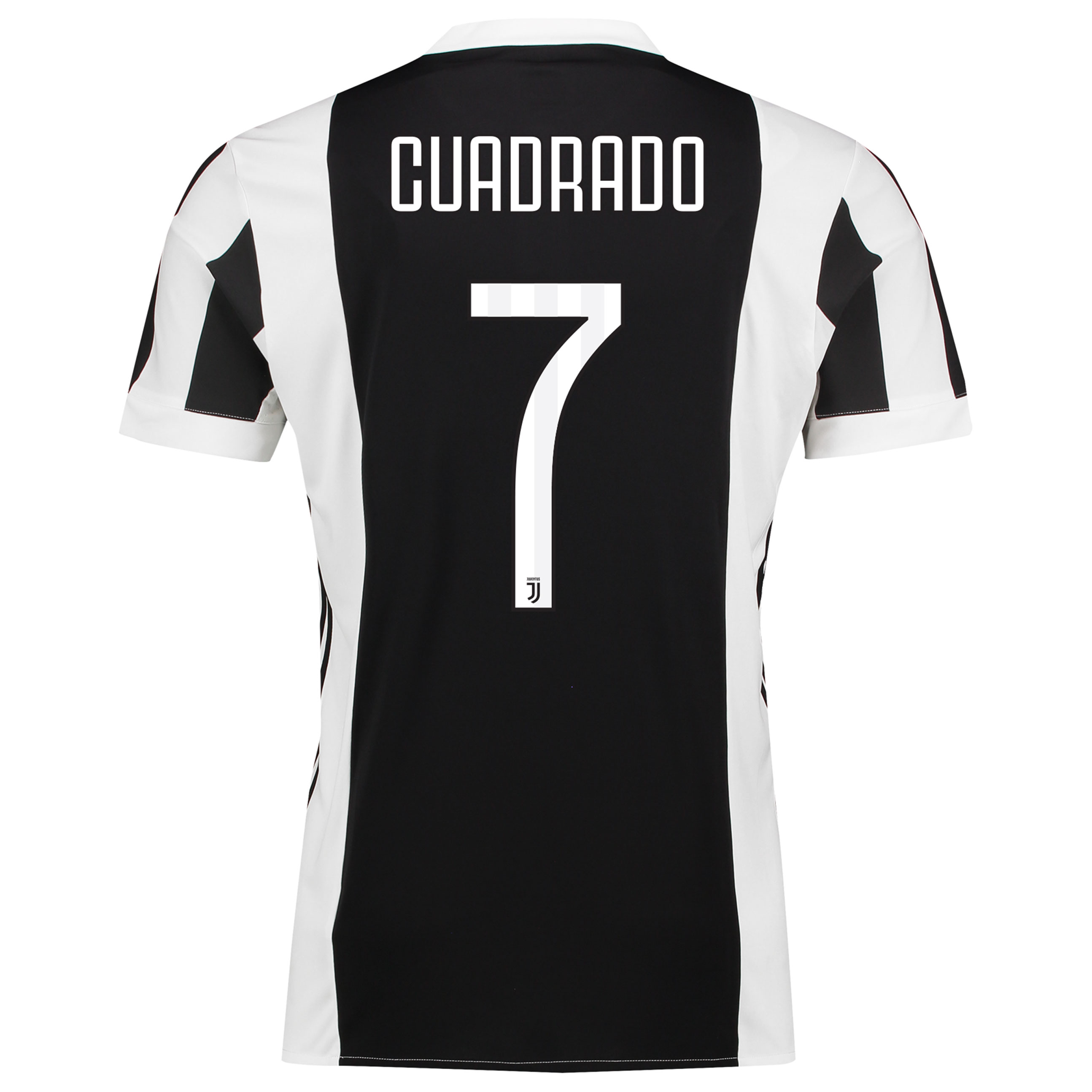 Juventus Home Mini Kit 2017-18 with Cuadrado 7 printing