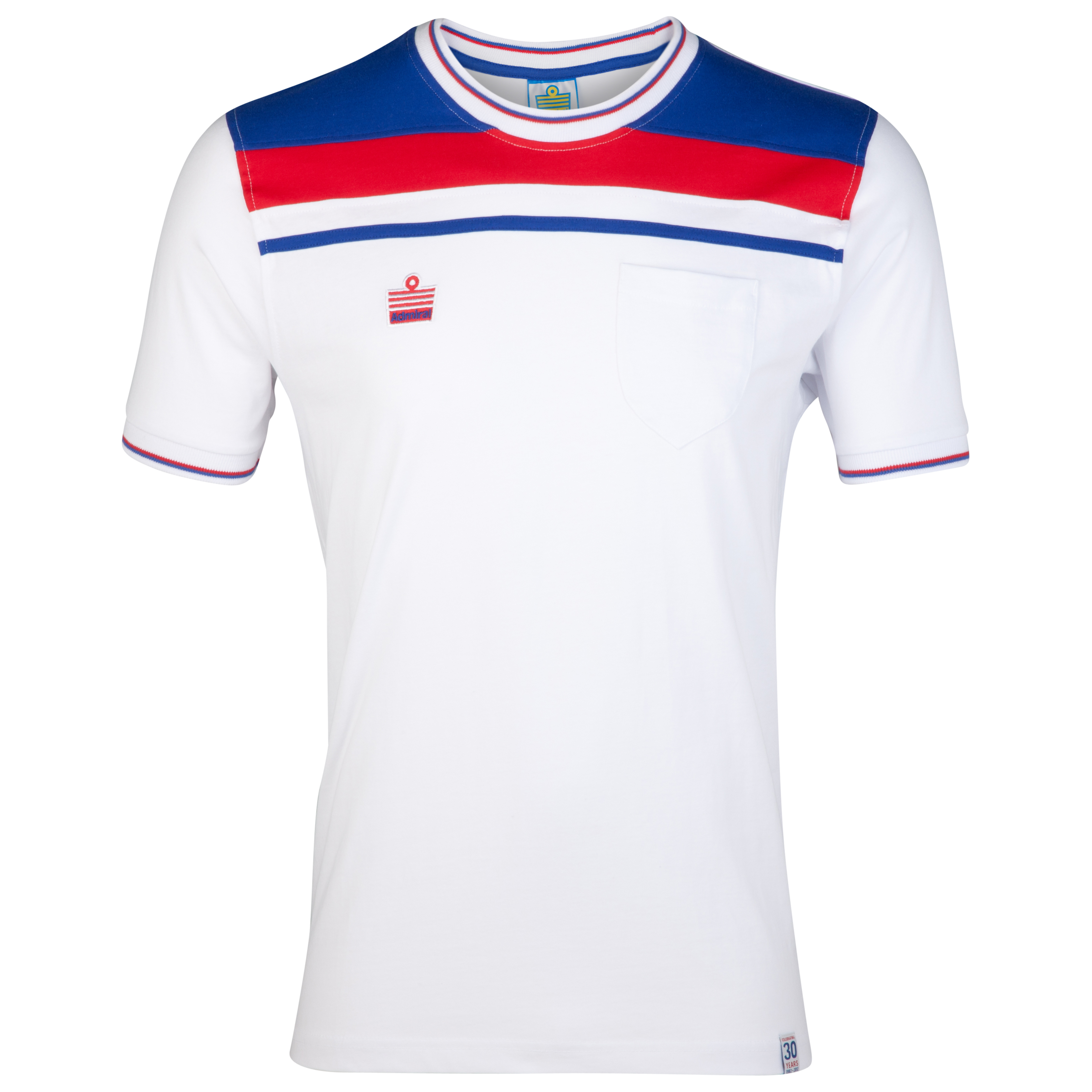 Admiral 1982 England Home T-Shirt - White
