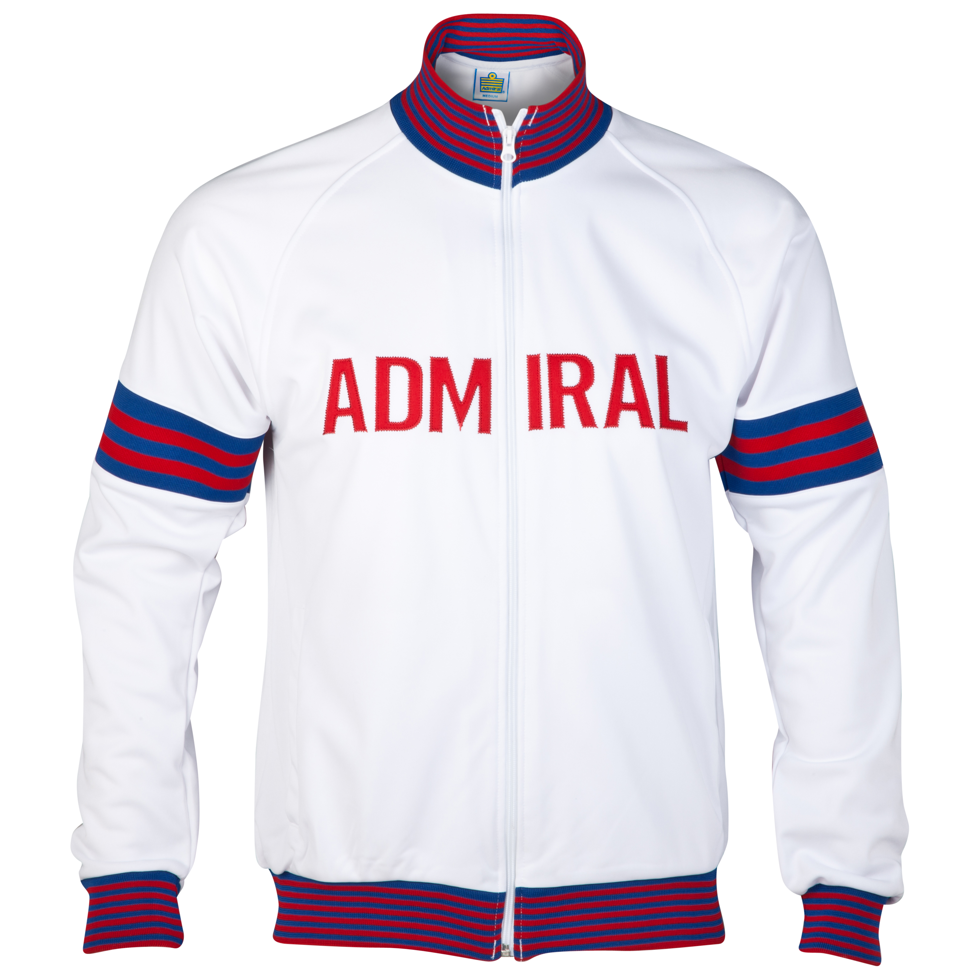Admiral 1974 England Track Top - White
