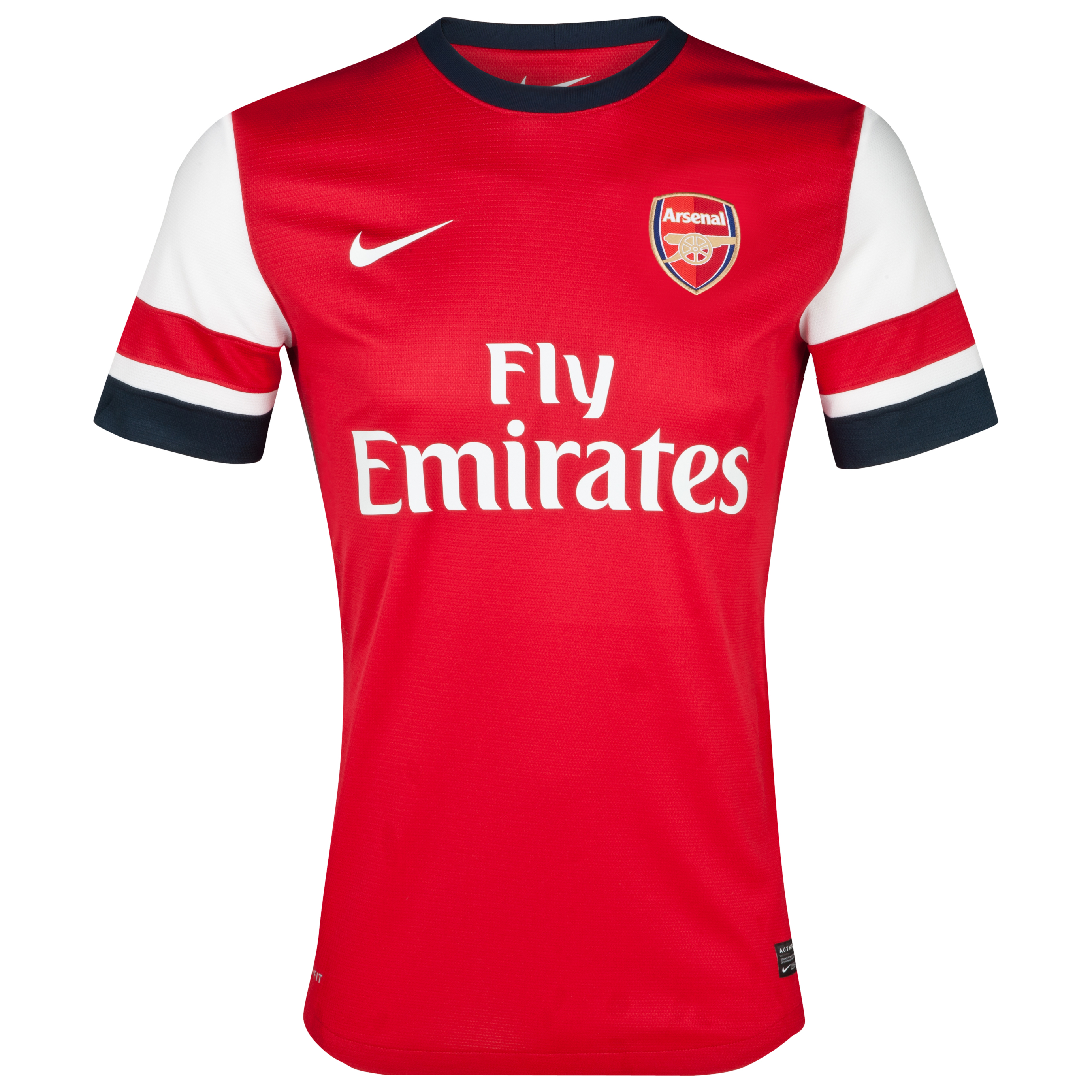 Arsenal Home Shirt 2012/14