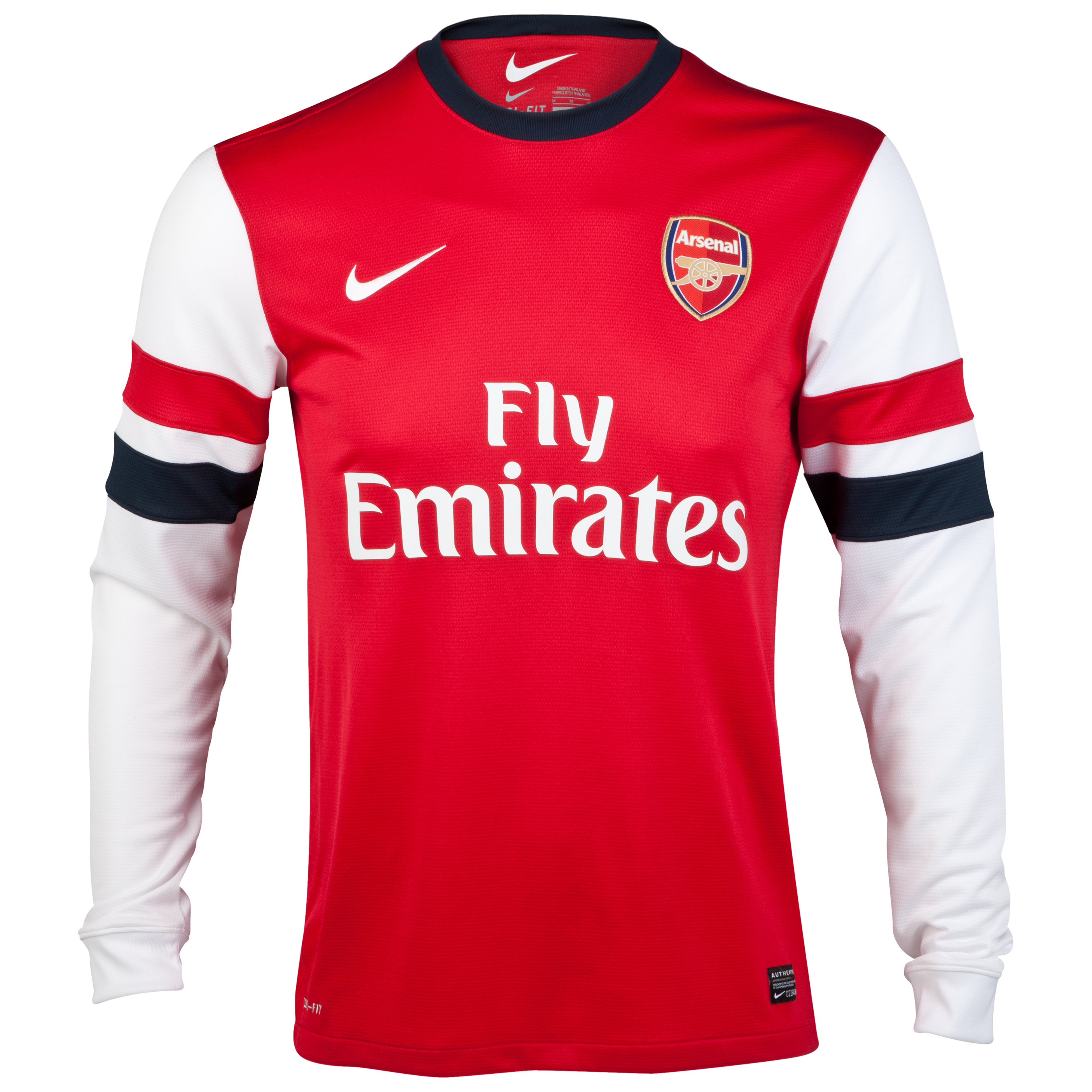 Arsenal Home Shirt 2012/14 - Long Sleeve