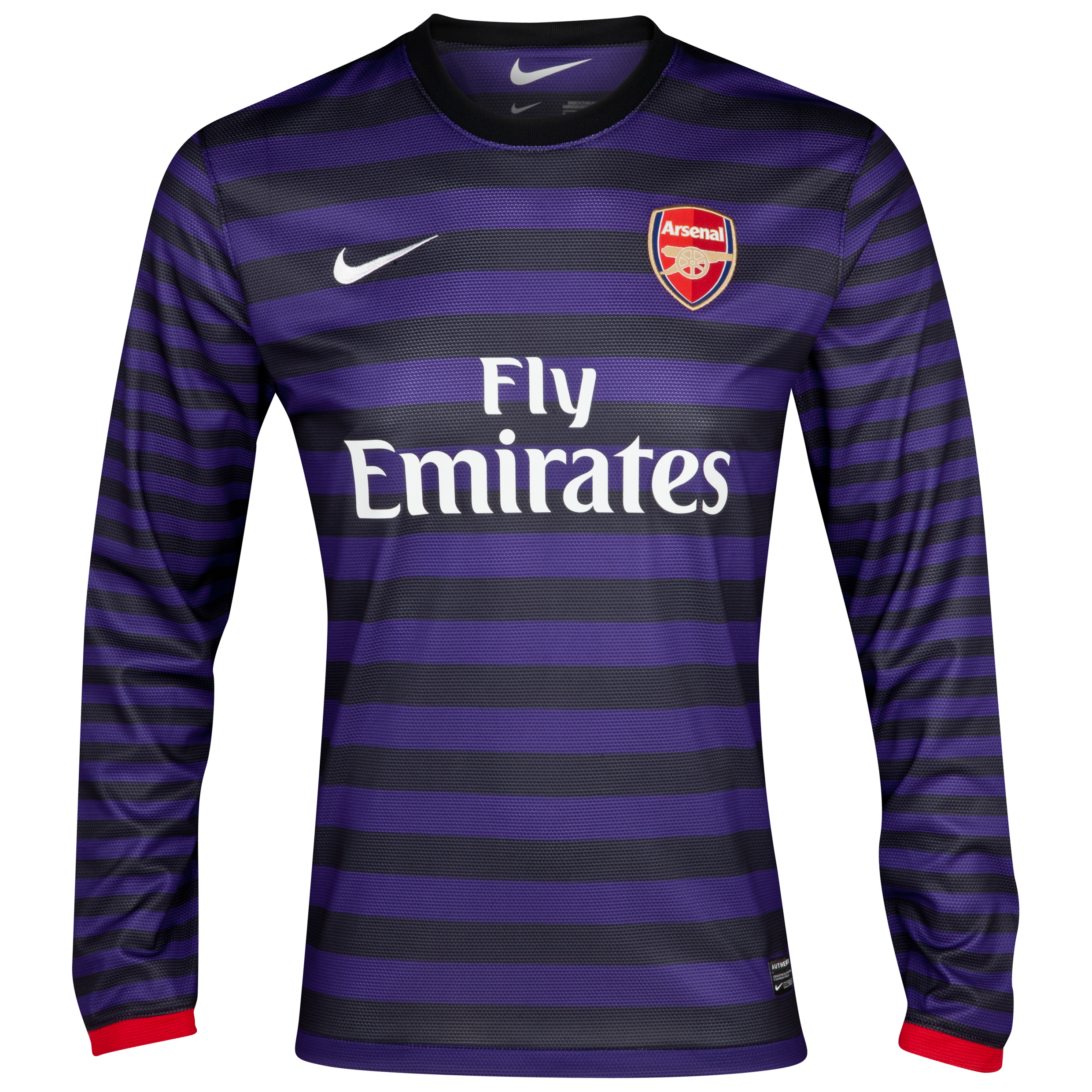 Arsenal Away Shirt 2012/13 - Long Sleeve