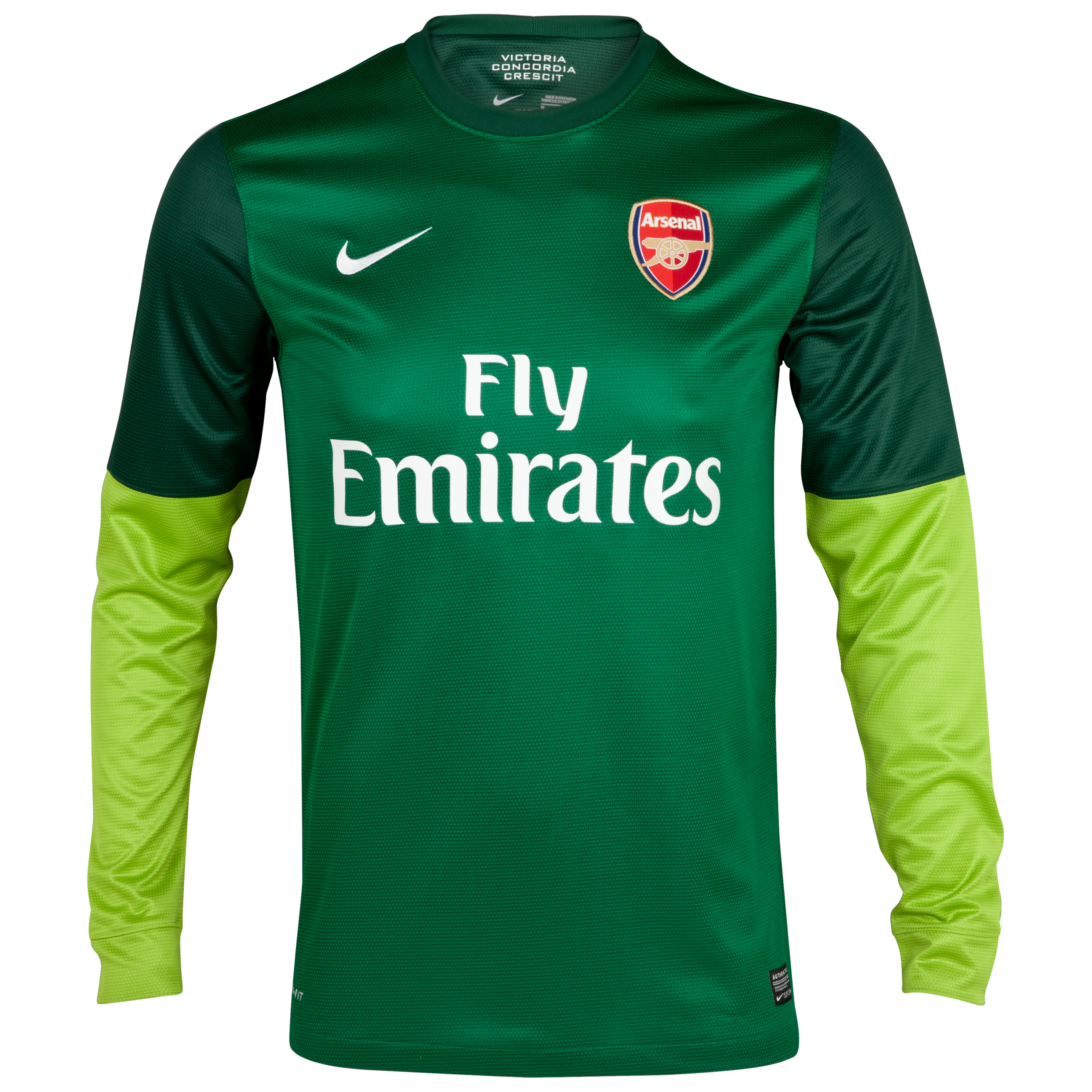 Arsenal Home Goalkeeper Shirt 2012/13