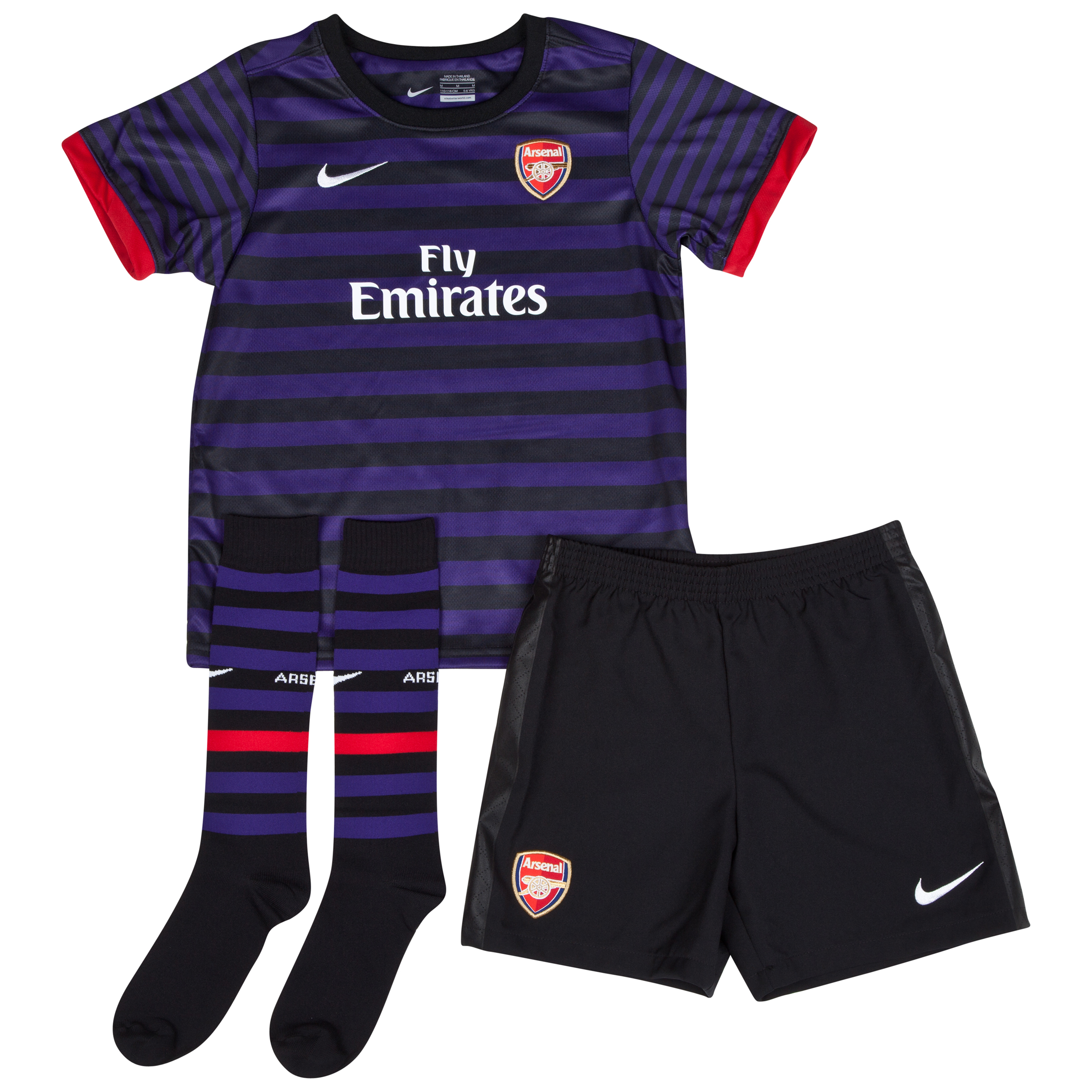 Arsenal Away Kit 2012/13 - Little Kids