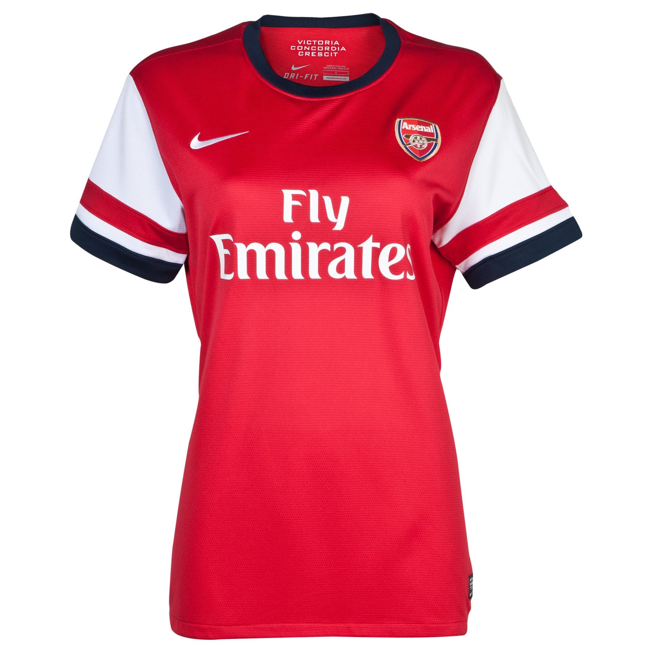 Arsenal  Home Shirt  2012/14 - Womens
