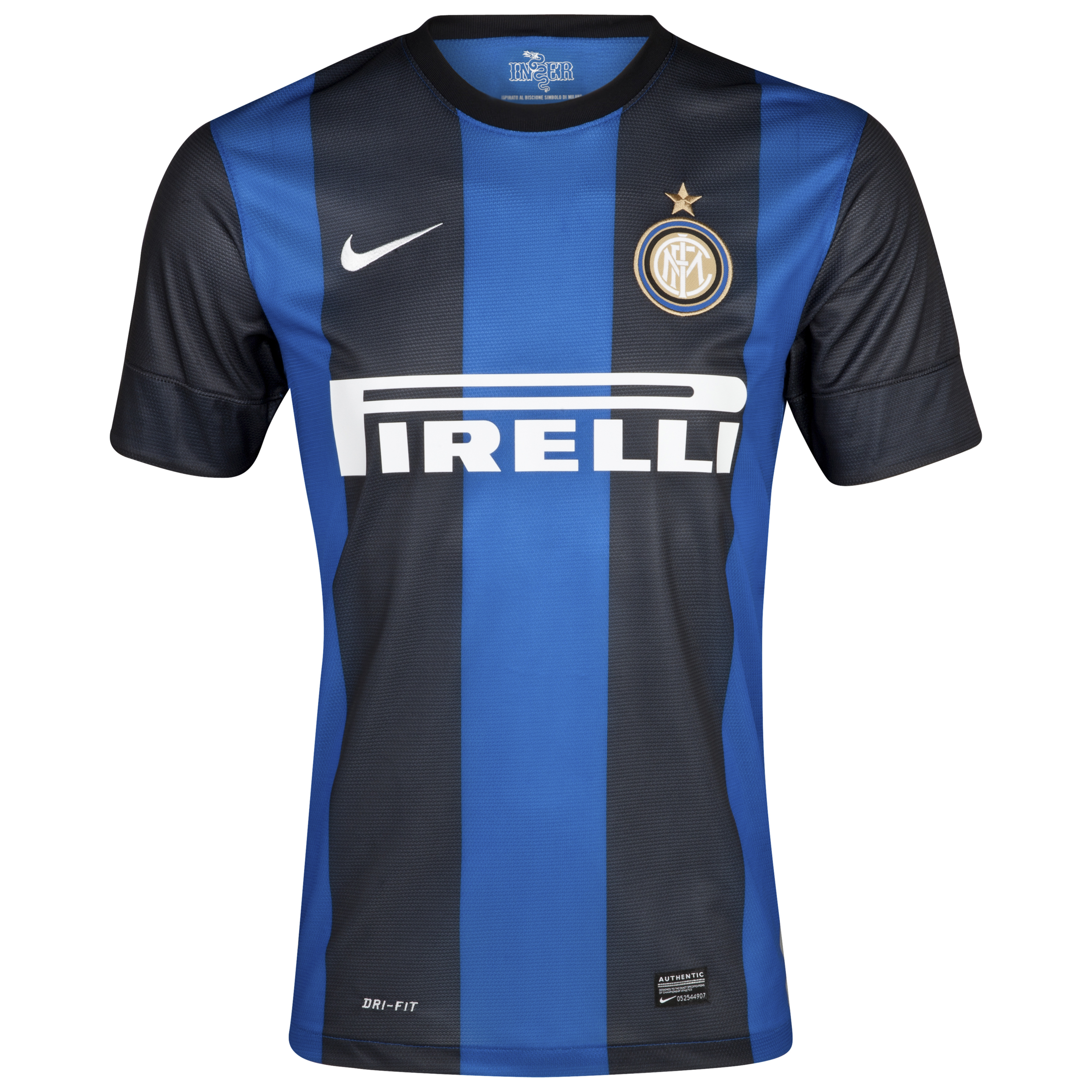 Inter Milan Home Shirt 2012/13