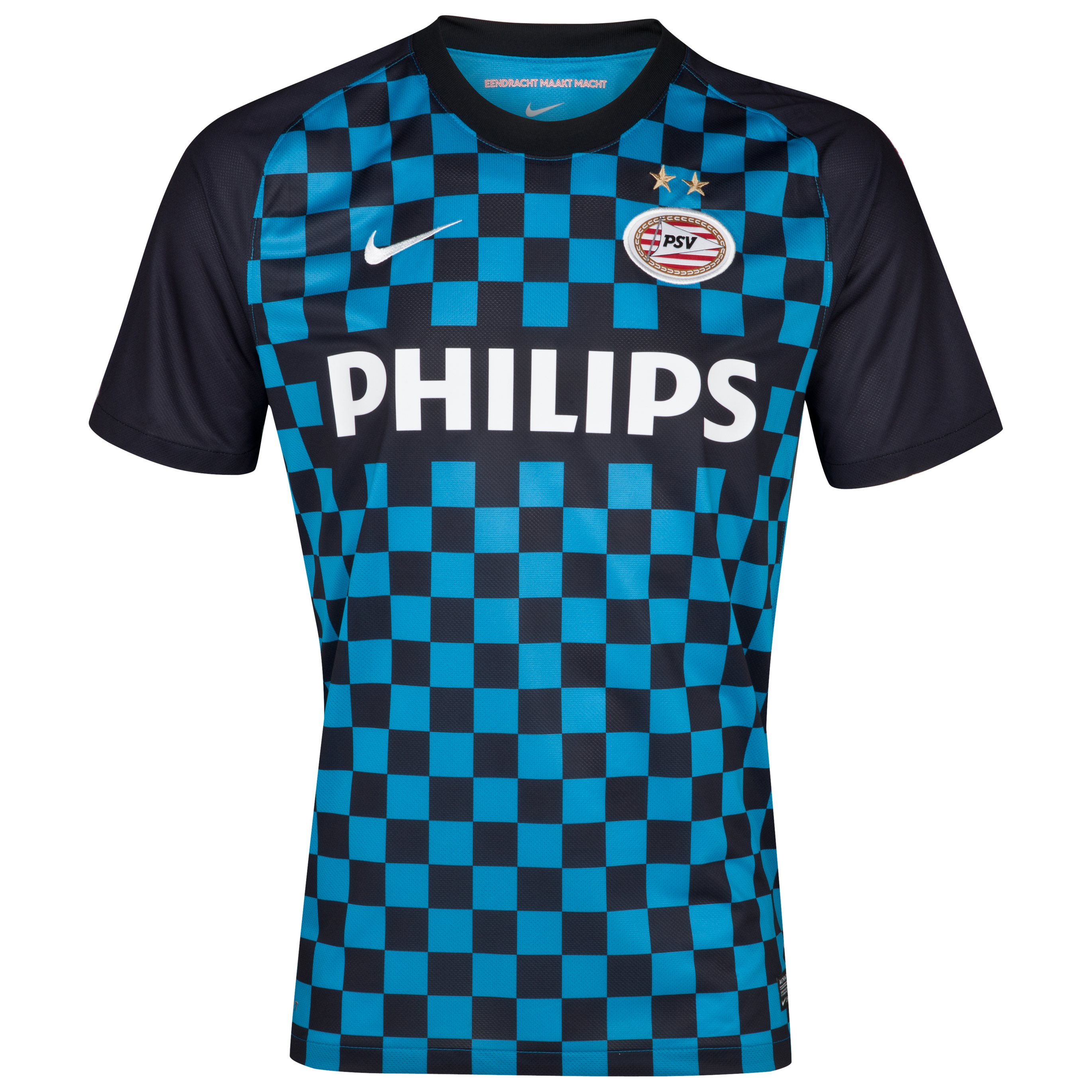 PSV Eindhoven 2012/13 Away Shirt - Laser Blue/Black/Black/Football White