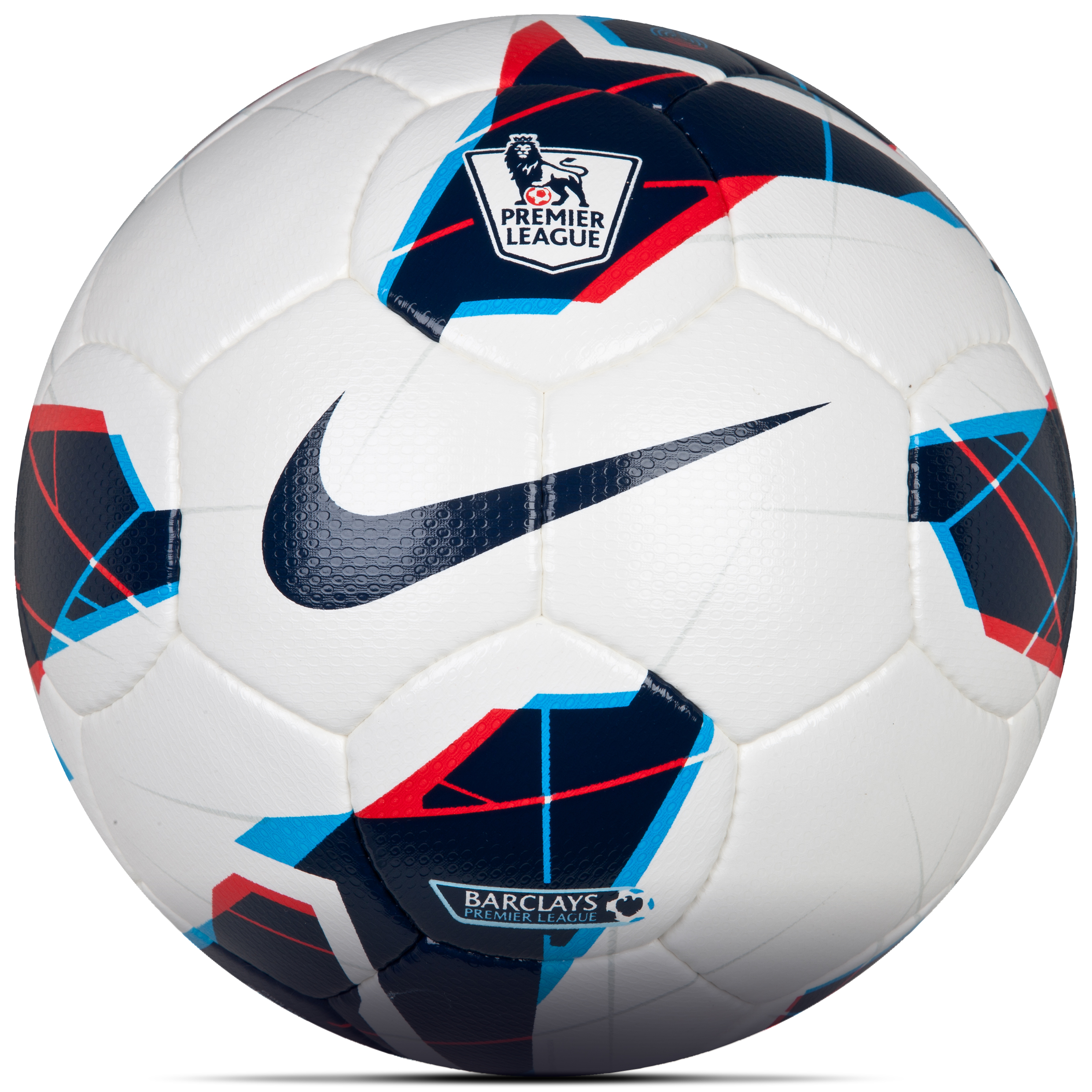 Nike Maxim Premier League Official Matchball - White/Blue/Blue