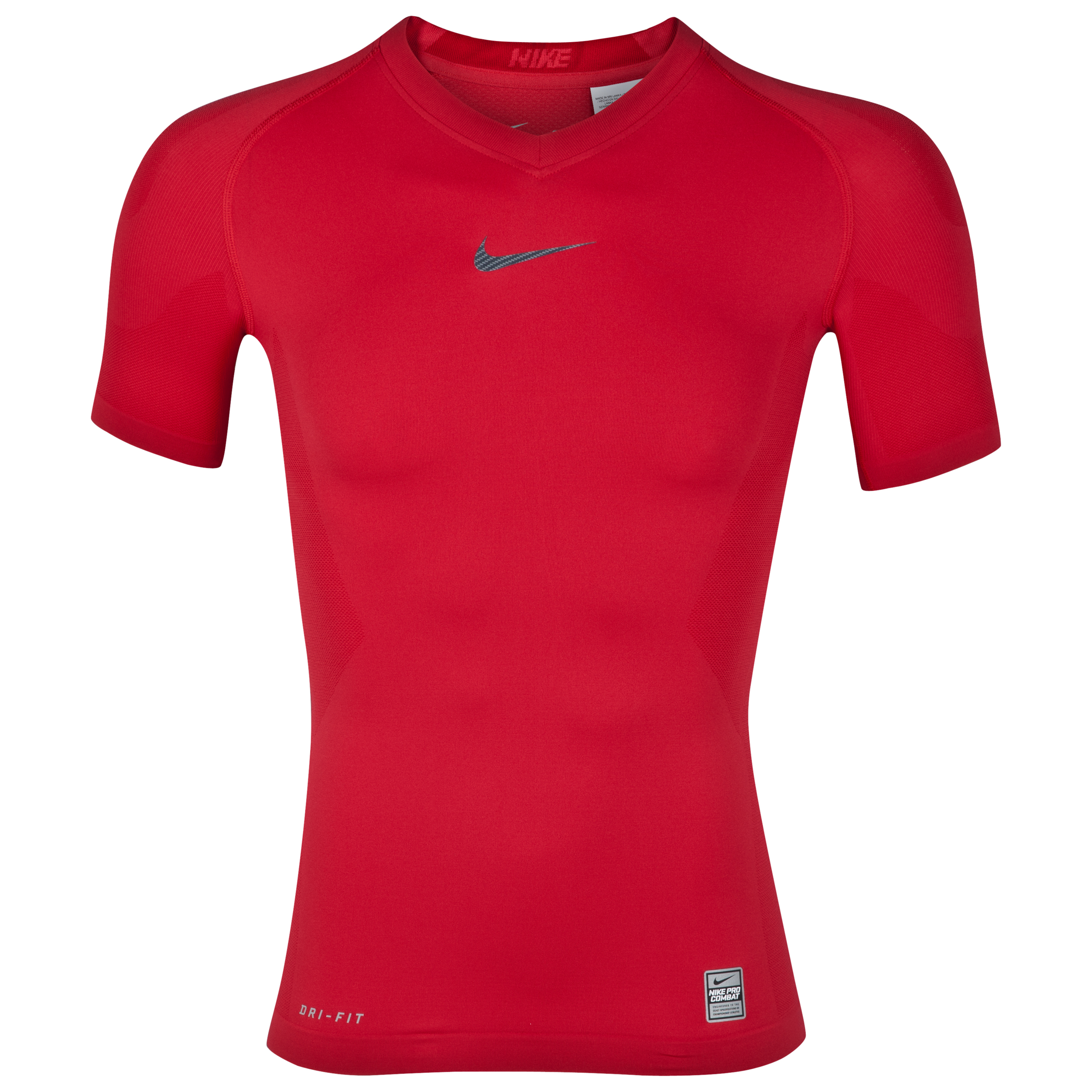 Nike Pro Combat Hypercool Baselayer Top - Diablo Red