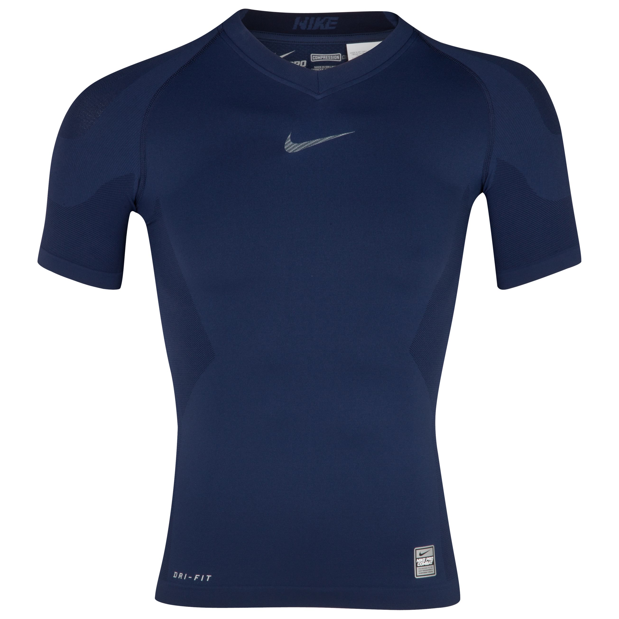 Nike Pro Combat Hypercool Baselayer Top - Midnight Navy