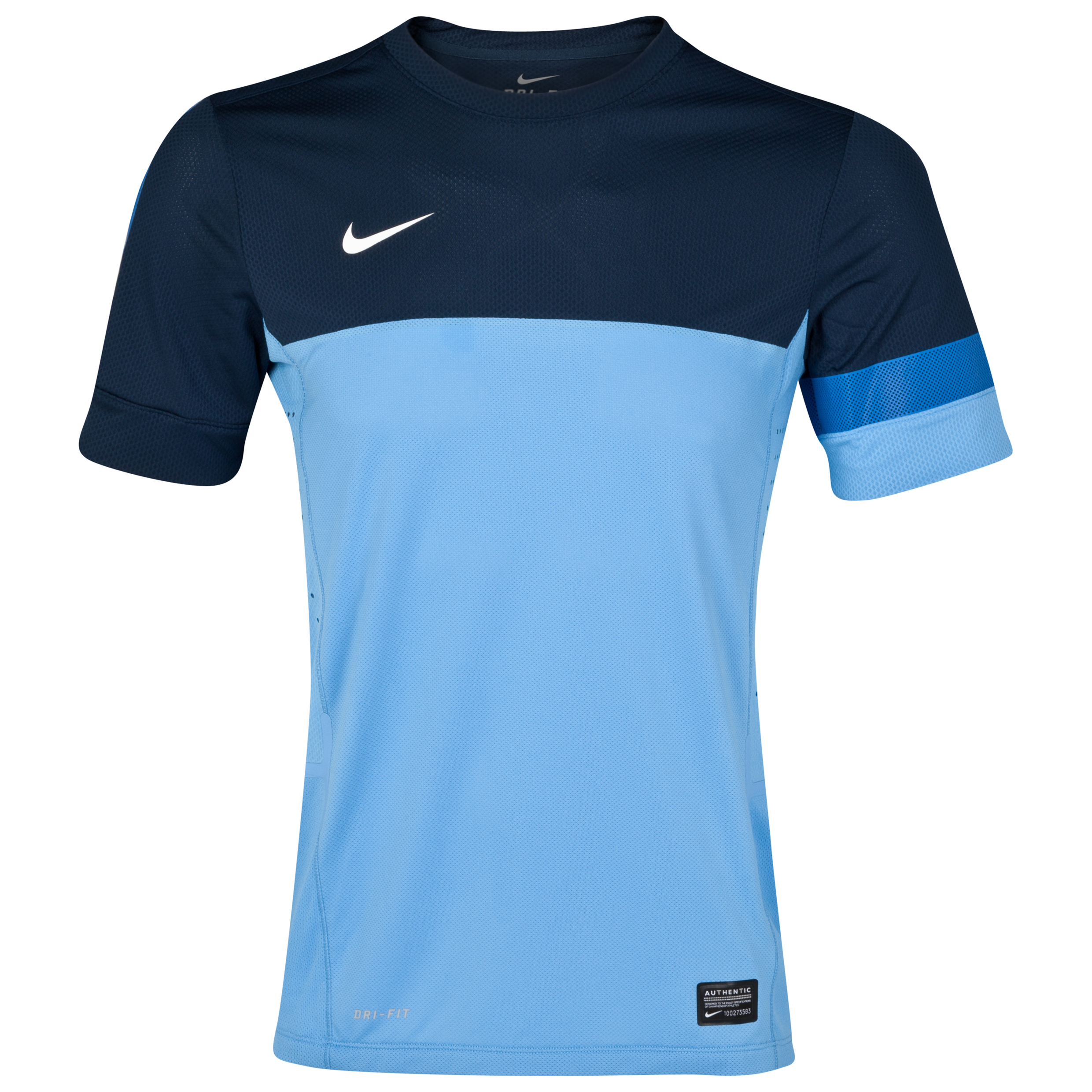 Nike Elite Training Top - University Blue/Light Midnight/White