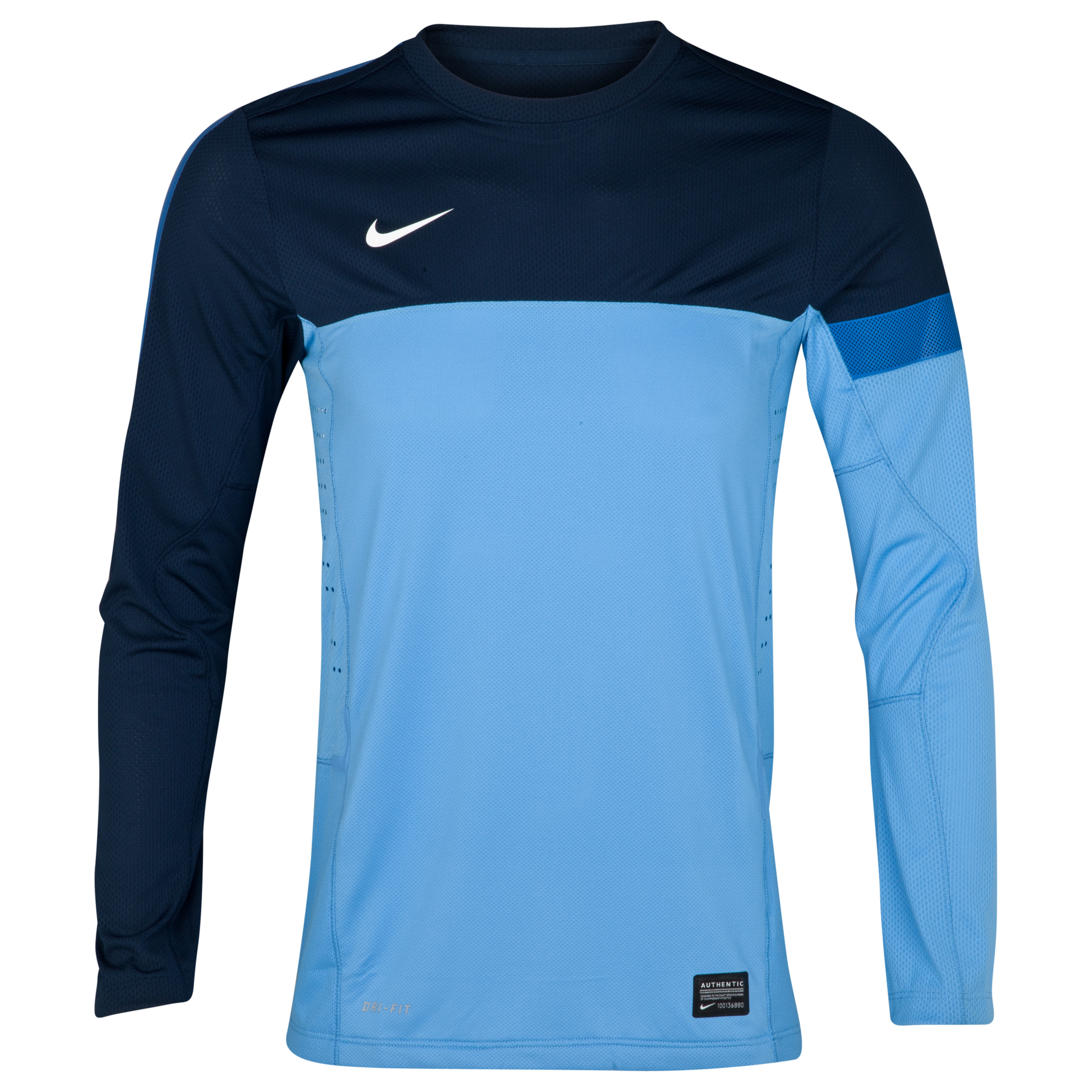 Nike Elite Training Top - Long Sleeve - University Blue/Light Midnight/White
