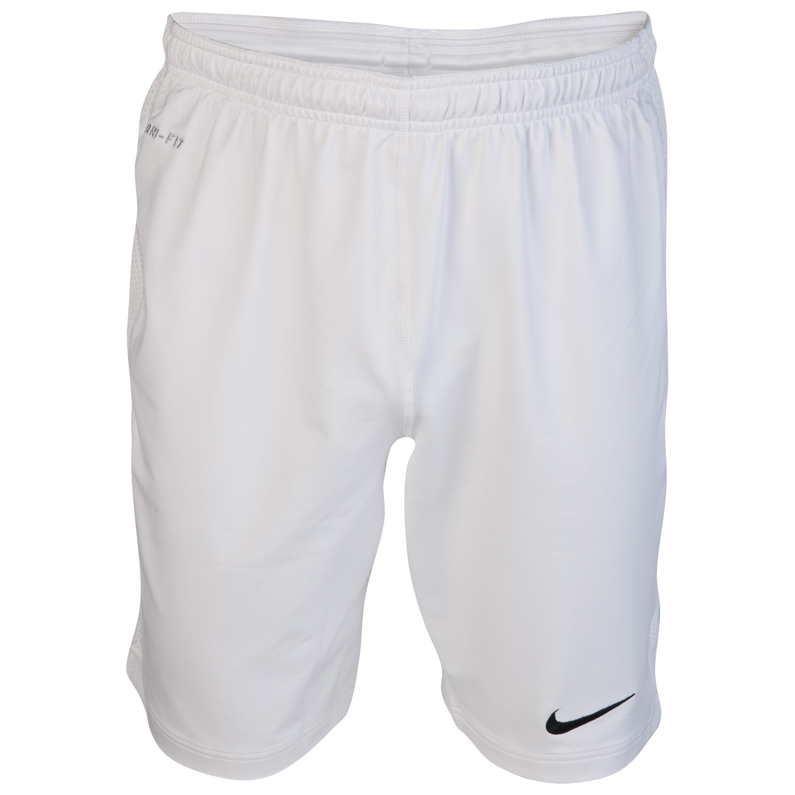 Nike Elite Long Knit Training Shorts - White/Black