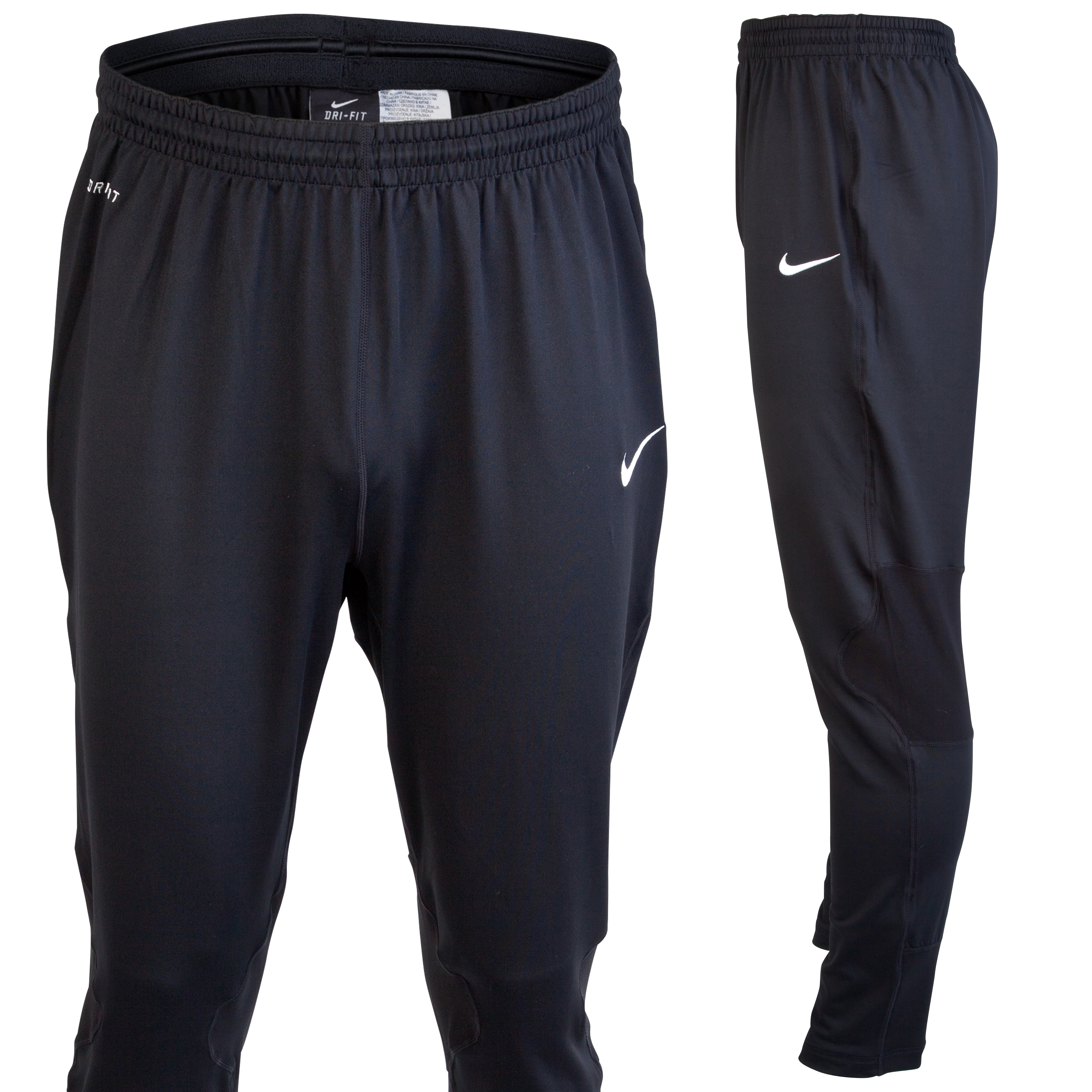 Nike Elite Tech Knit Training Pant - Black/White