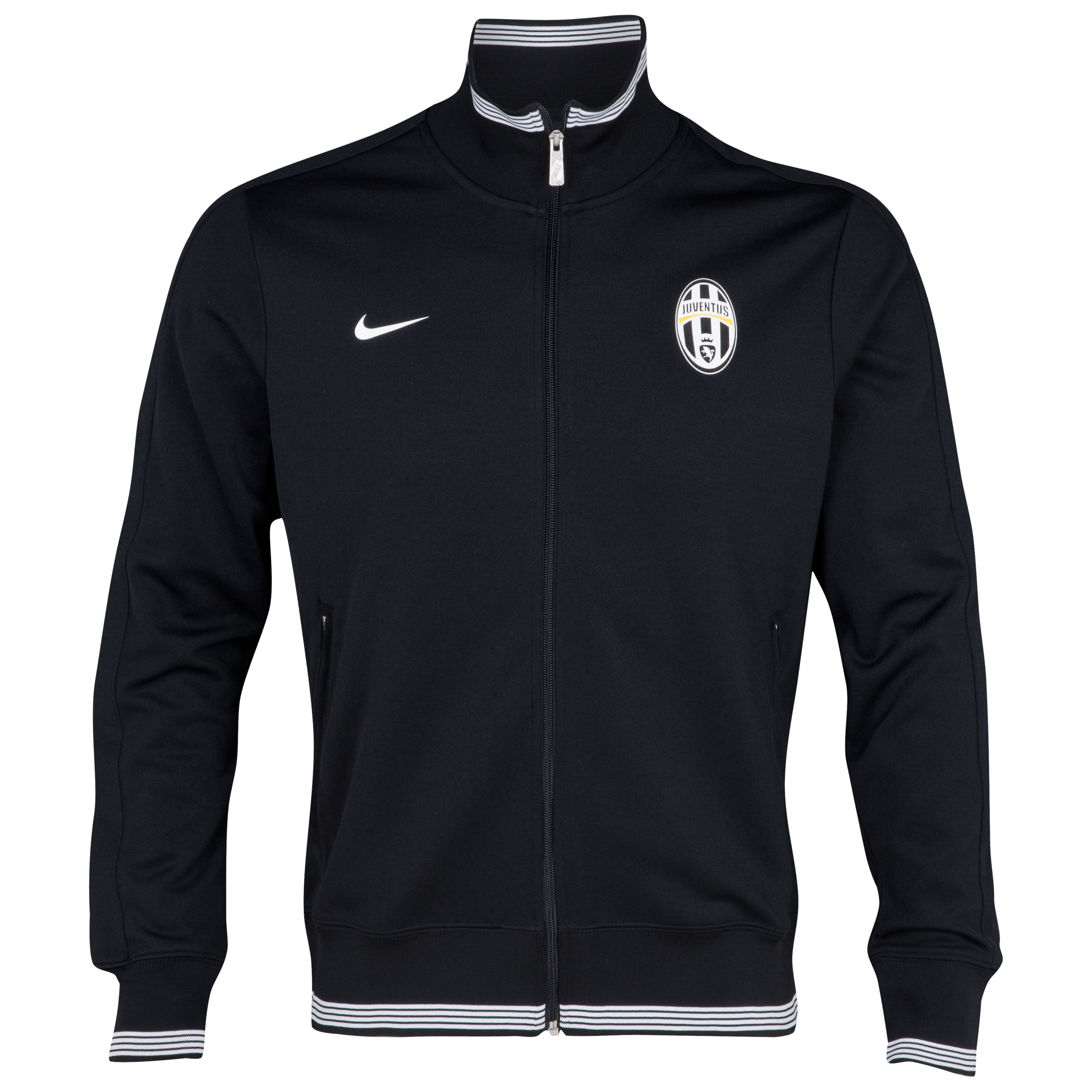 Juventus Authentic N98 Jacket - Black/White