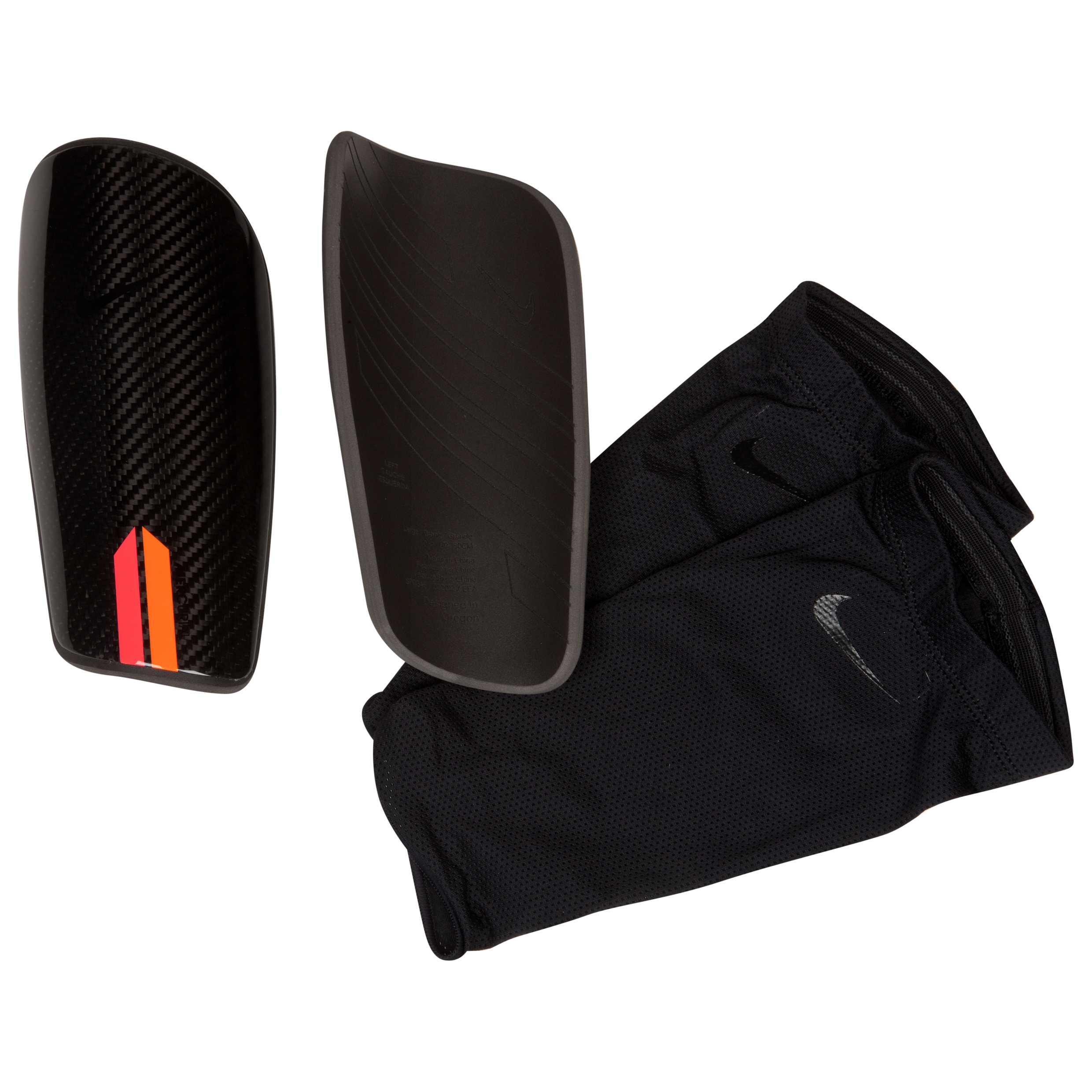 Nike Mercurial Blade Shin Pads - Black/Orange/(Black)