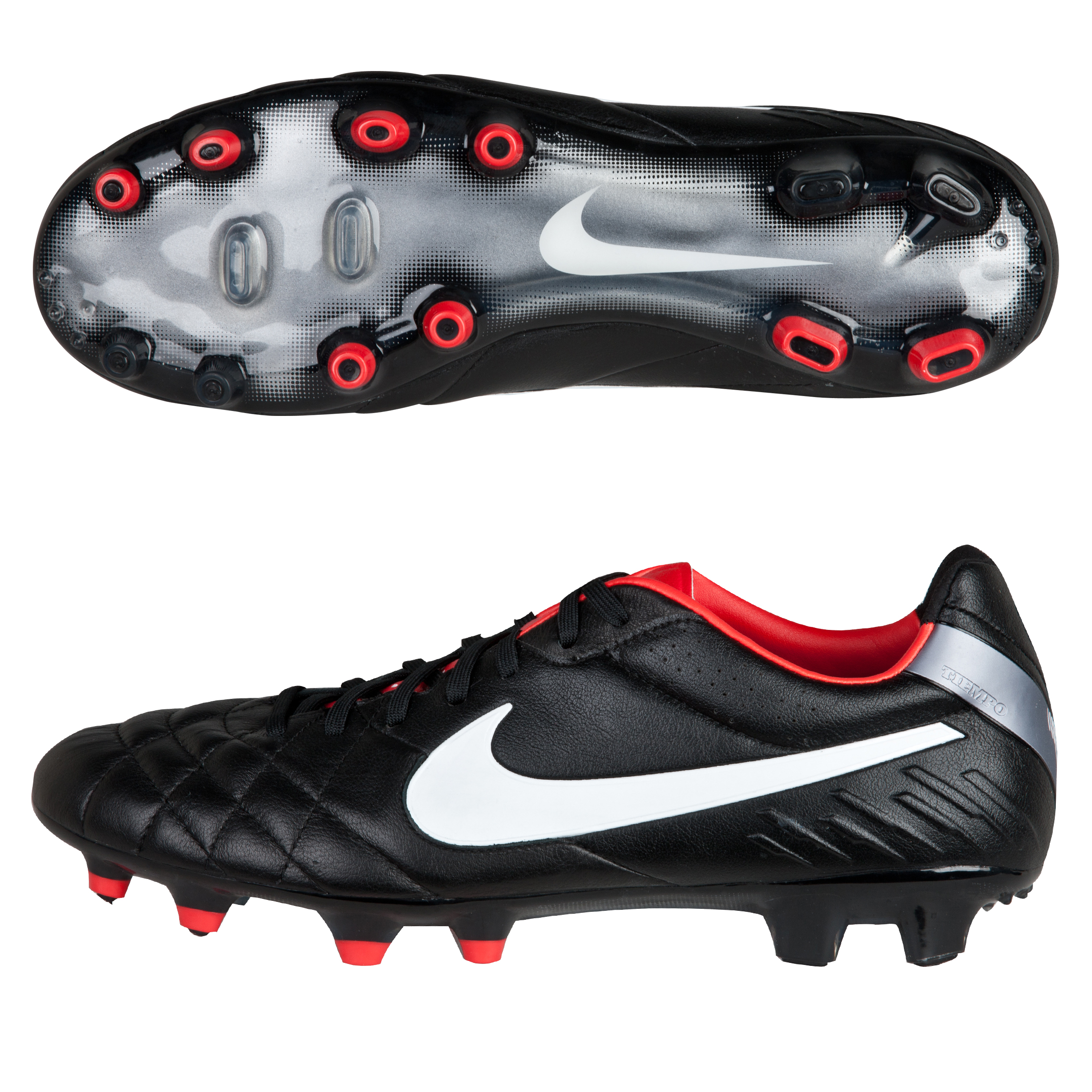 Tiempo Legend IV FG Black/White/Challenge Red