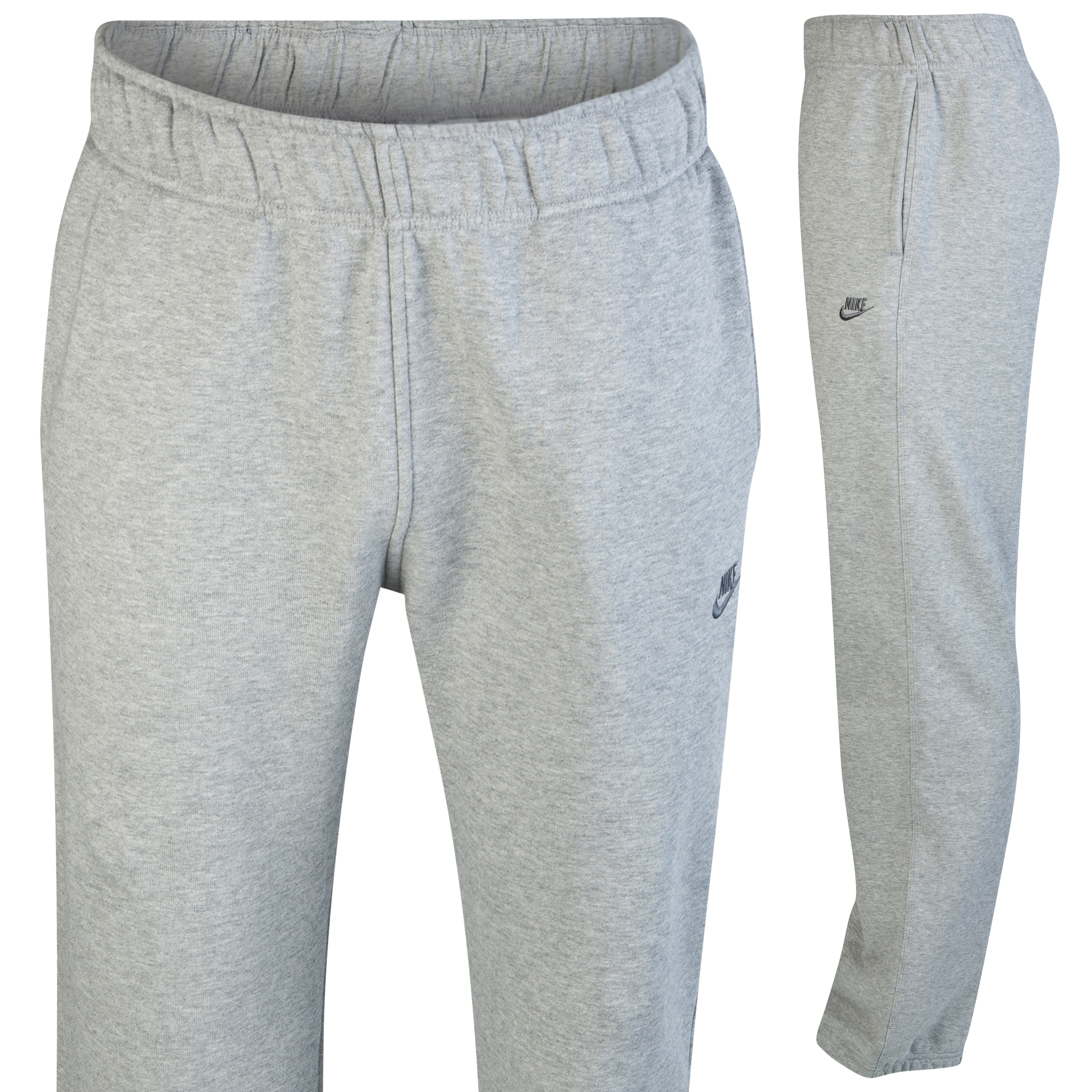 Nike Contender Open Hem Pant - Dk Grey Heather/Dark Grey
