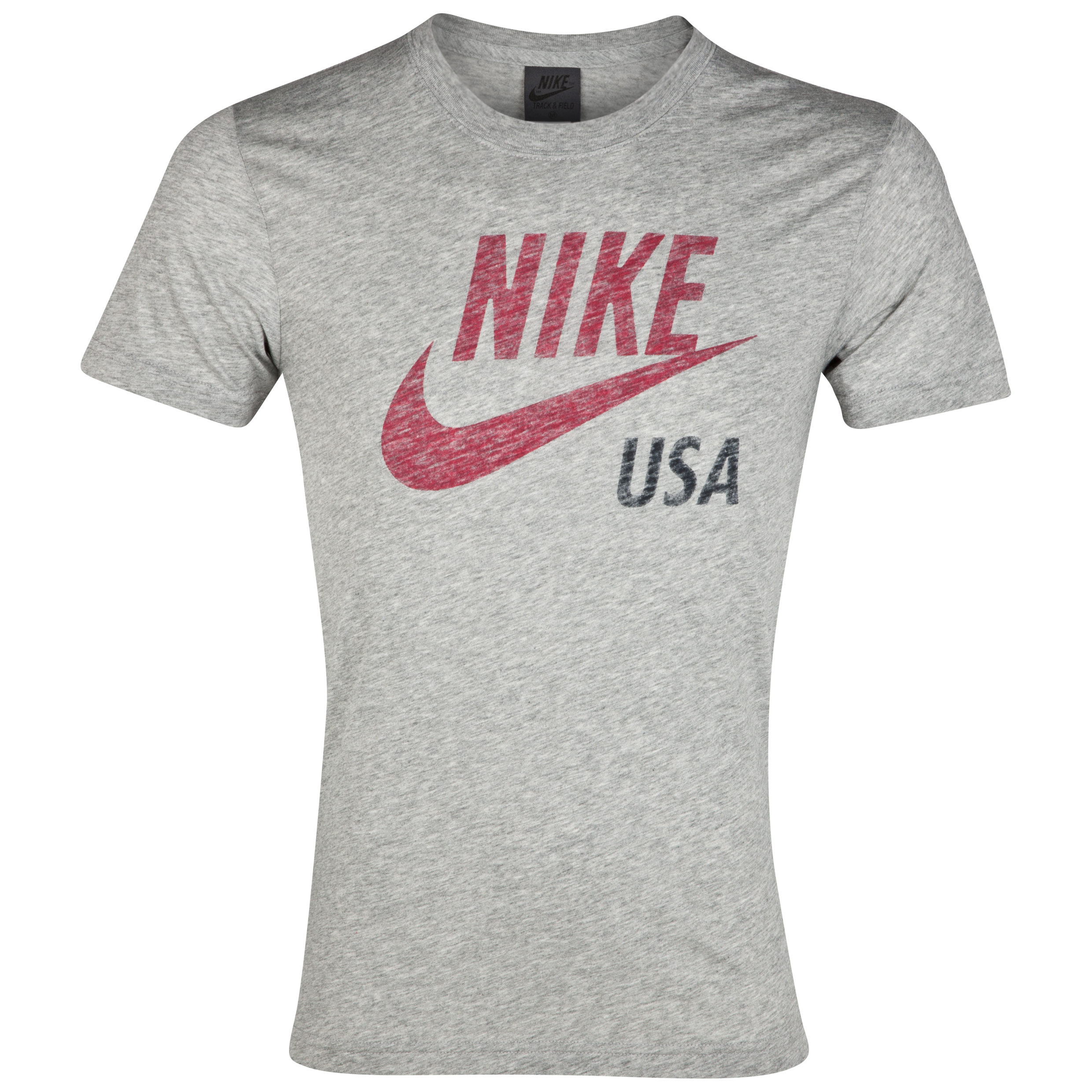 Nike Country Tee - Dk Grey Heather