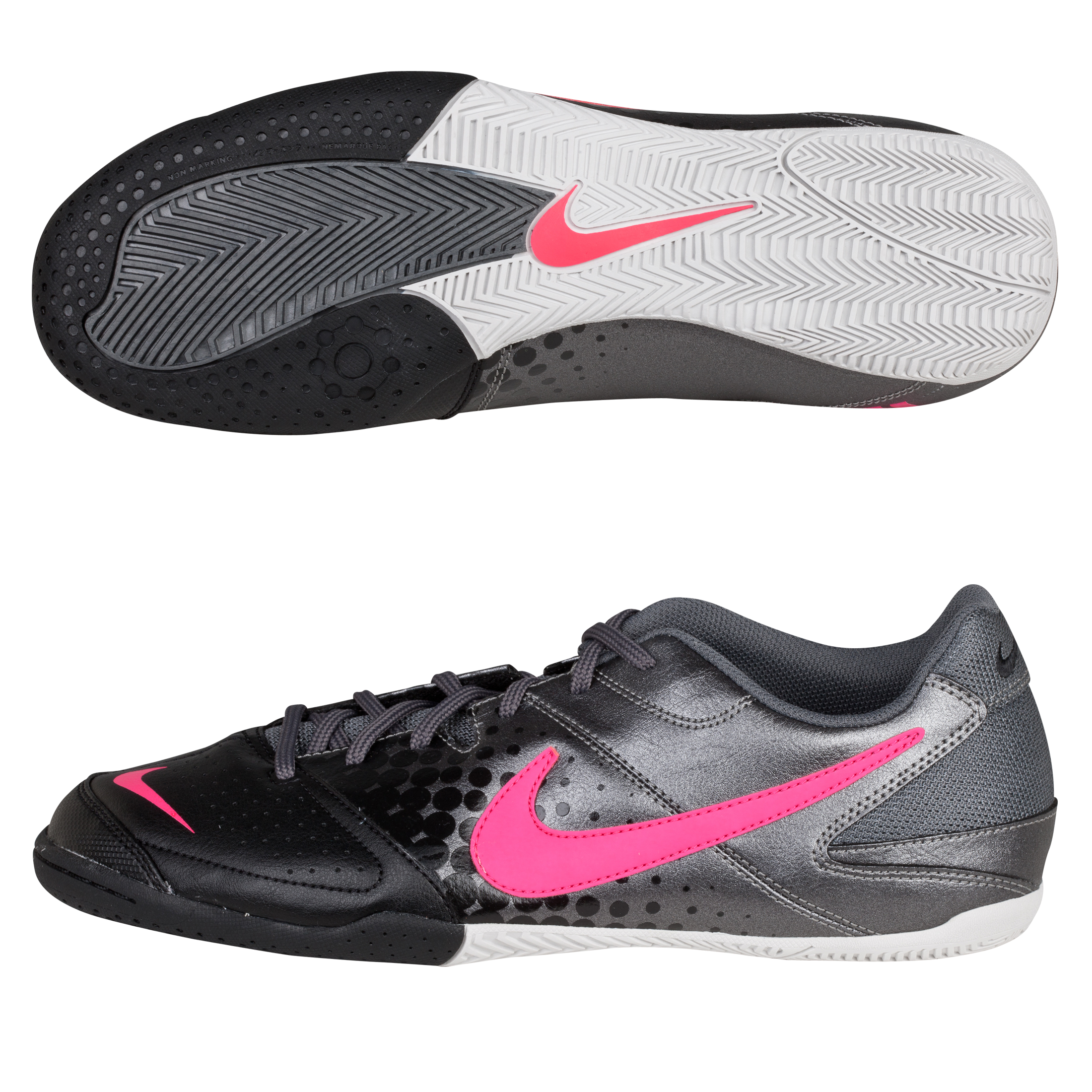 Nike5 Elastico Trainers - Metallic Dark Grey/Cherry/Black