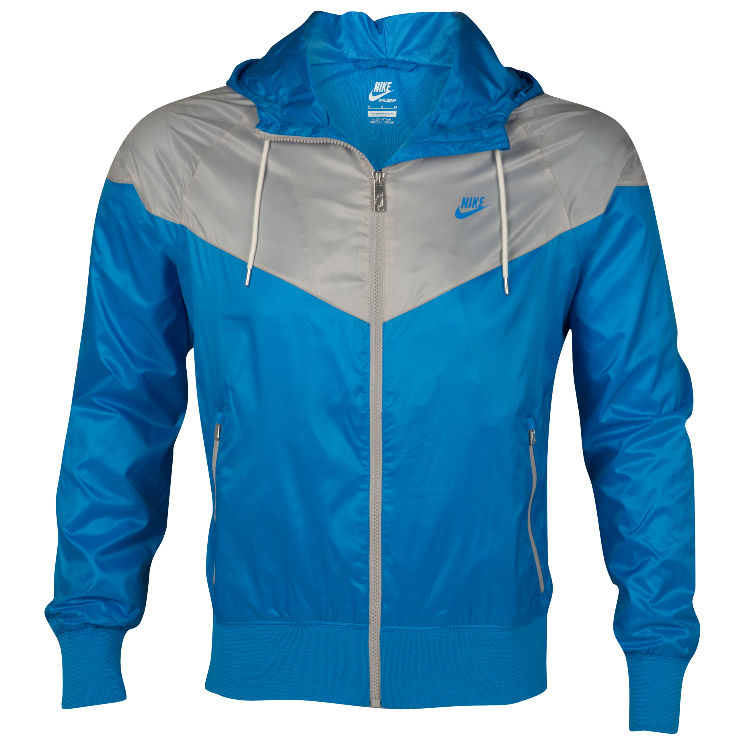 Nike Windrunner Jacket - Blue/Granite