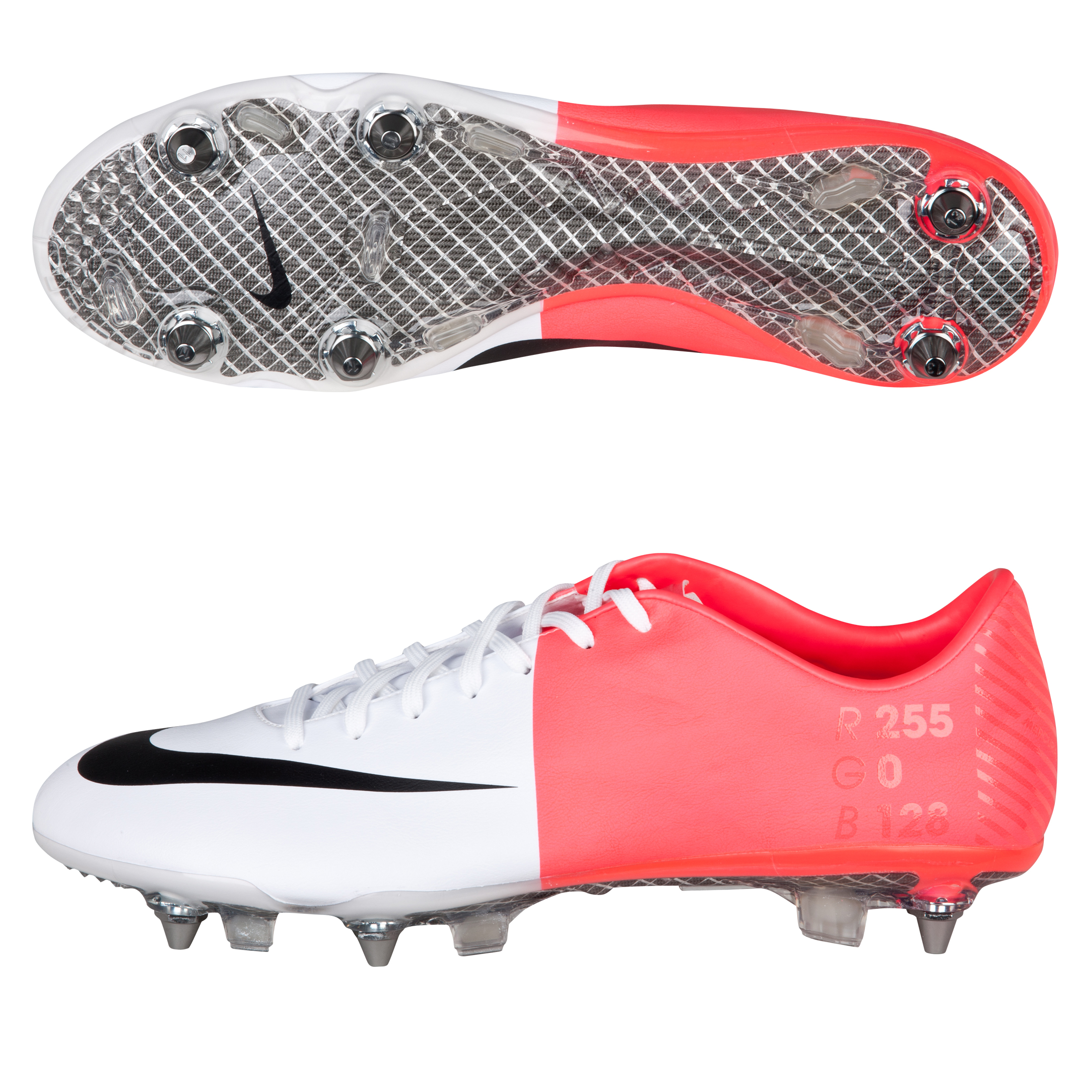 Mercurial Vapor VIII SG-Pro White/Black/Solar Red