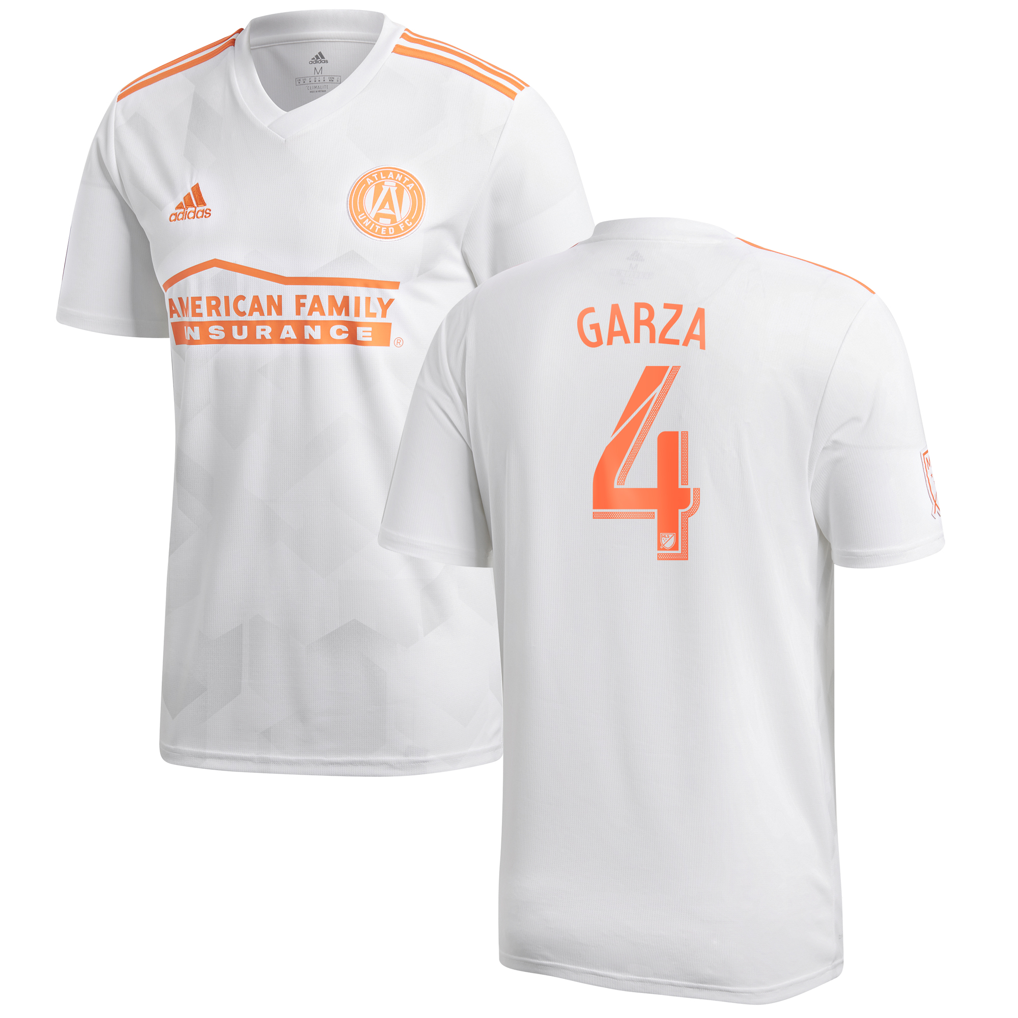Atlanta United Away Shirt 2018 with Garza 4 printing
