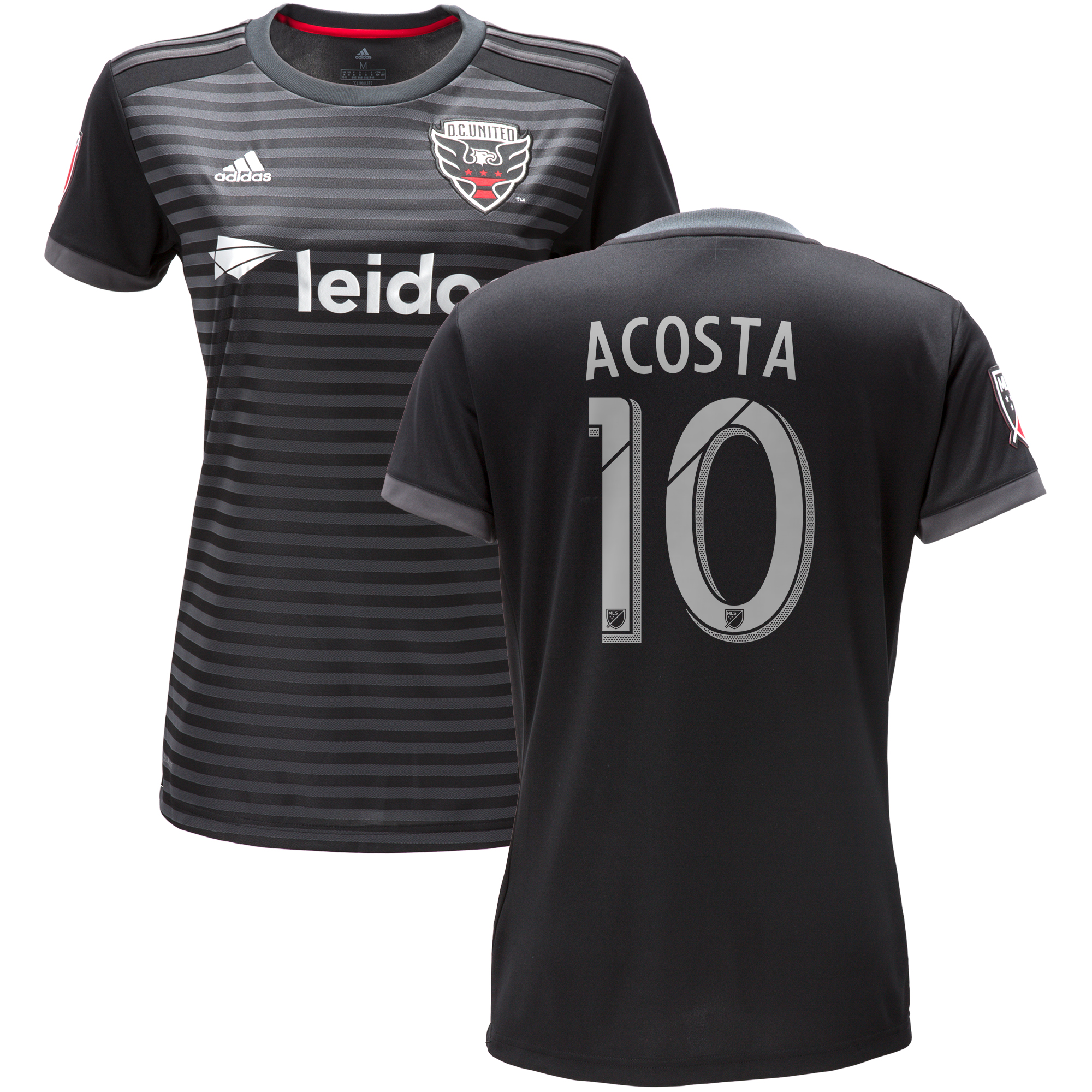 DC United Home Shirt 2018 - Womens with Acosta 10 printing