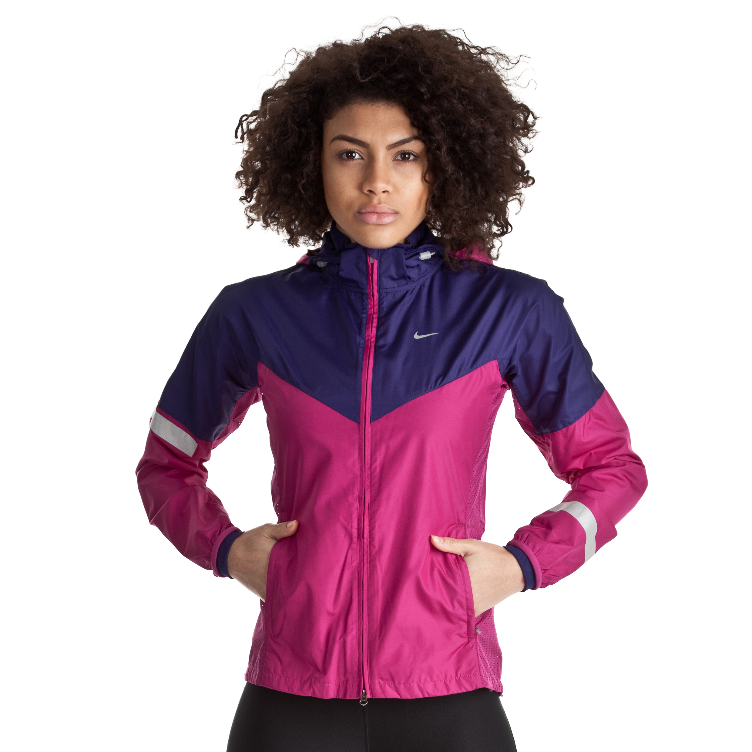 Nike Vapor Jacket - Rave Pink/Night Blue/Reflective Silver - Womens